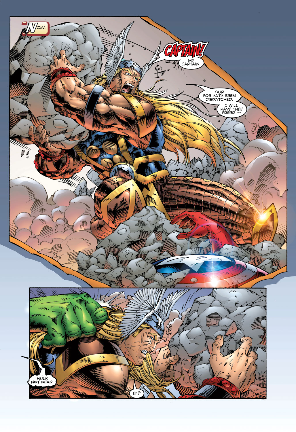Read online Avengers (1996) comic -  Issue #5 - 11