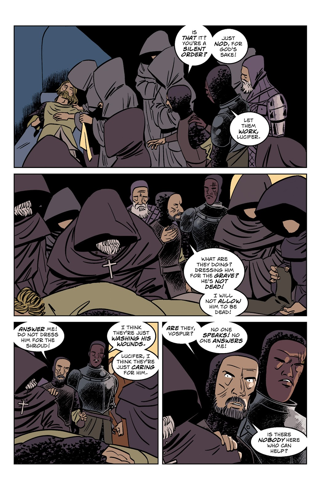 Read online Dark Ages comic -  Issue #1 - 22