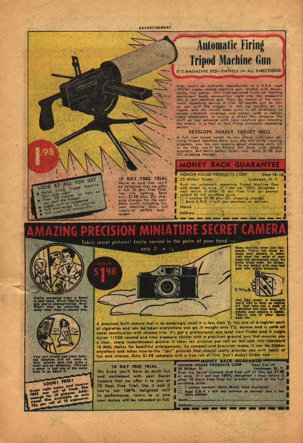 Read online Adventure Comics (1938) comic -  Issue #240 - 34