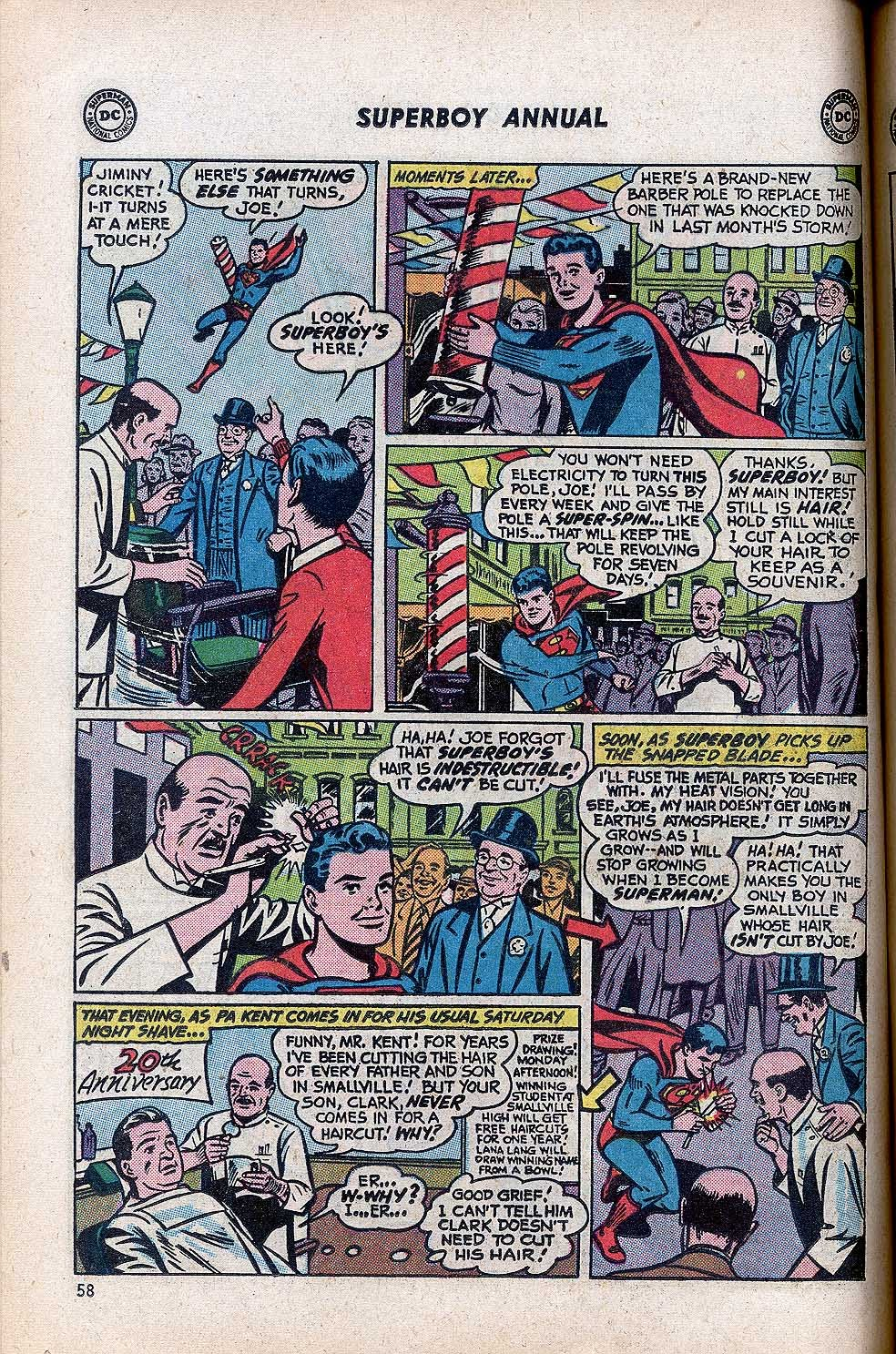 Superboy (1949) issue Annual 1 - Page 60