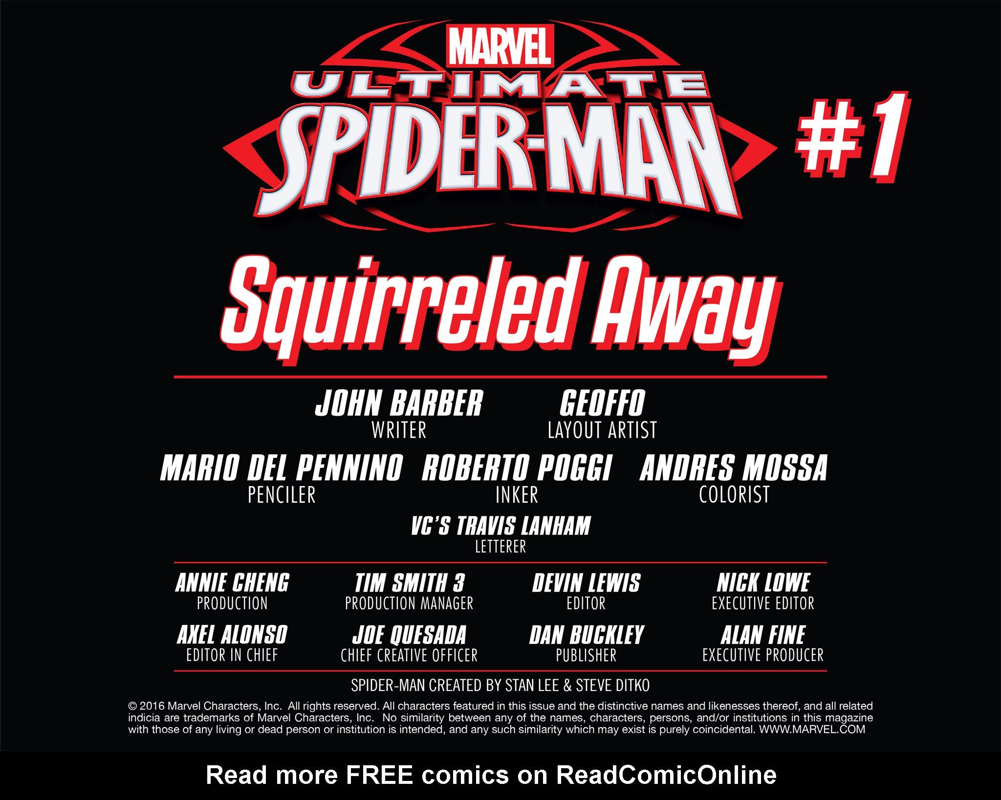 Read online Ultimate Spider-Man (Infinite Comics) (2016) comic -  Issue #1 - 7