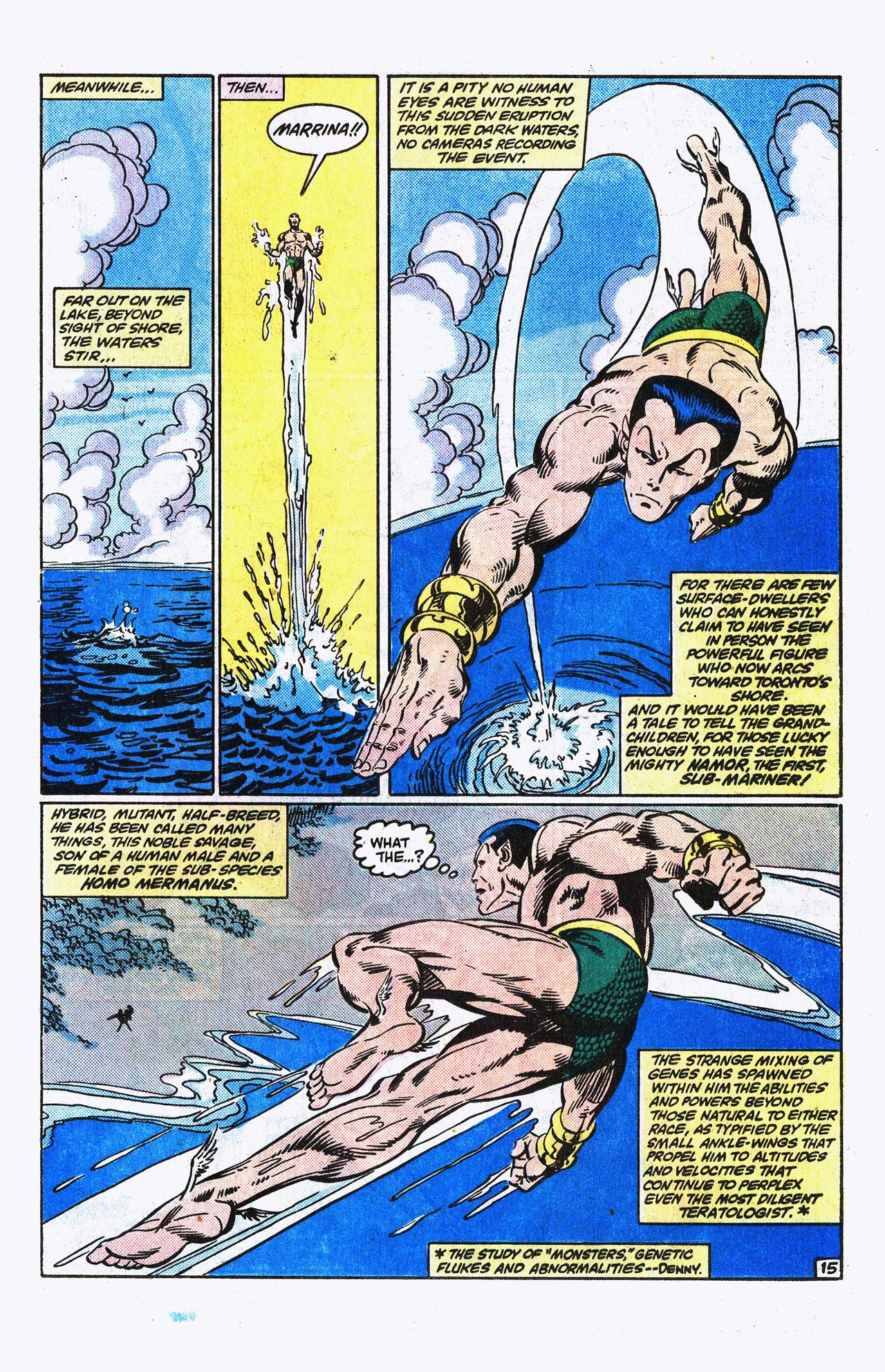 Read online Alpha Flight (1983) comic -  Issue #15 - 16