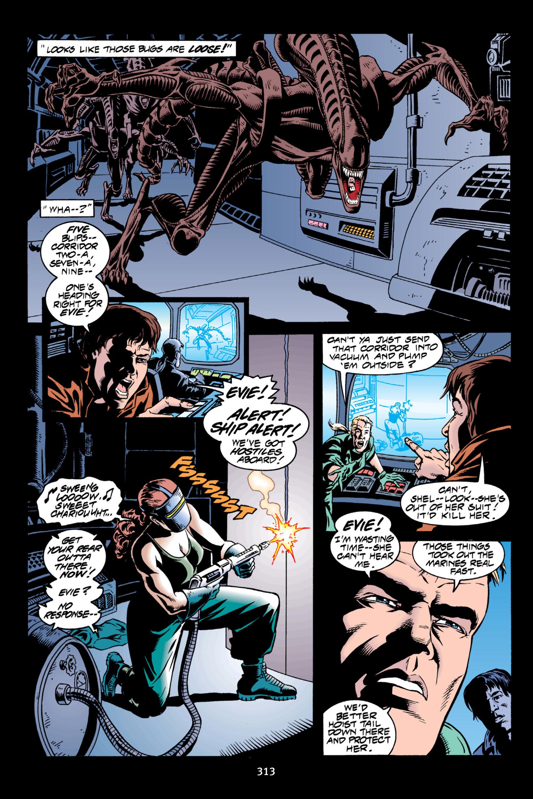 Read online Aliens vs. Predator Omnibus comic -  Issue # _TPB 2 Part 3 - 88