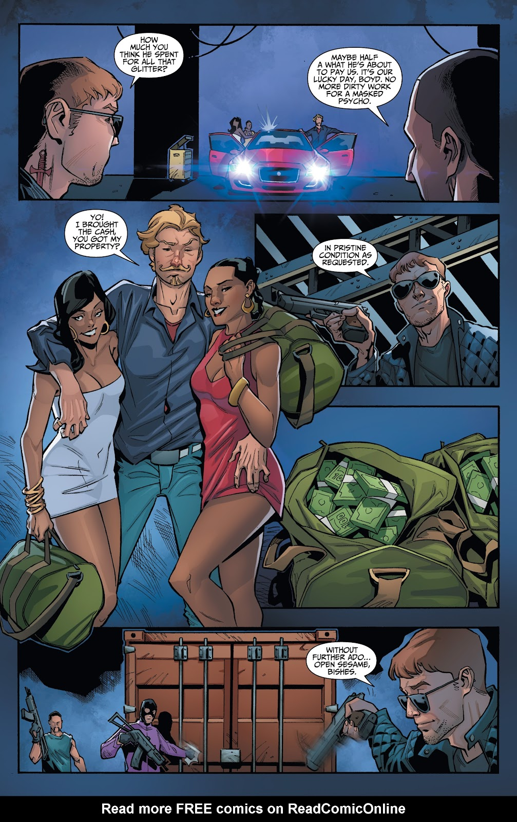 Read online Incidentals comic -  Issue #16 - 5