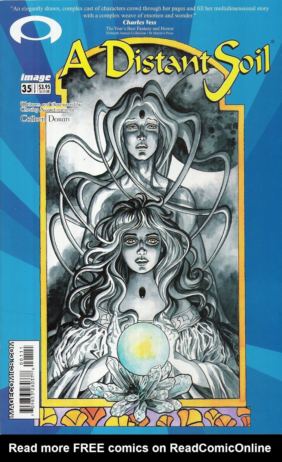 A Distant Soil (1991) issue 35 - Page 1