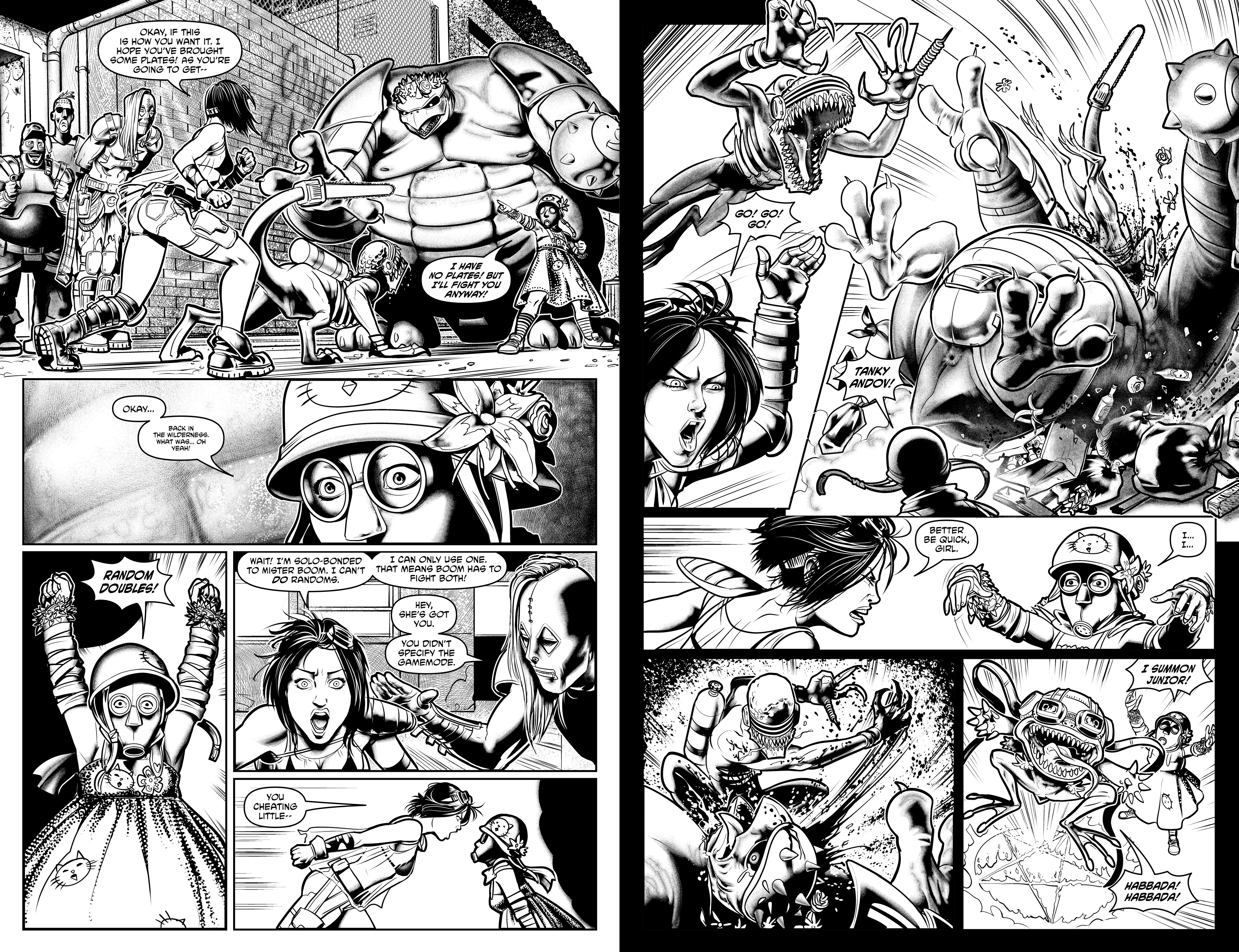 Read online Alan Moore's Cinema Purgatorio comic -  Issue #10 - 24