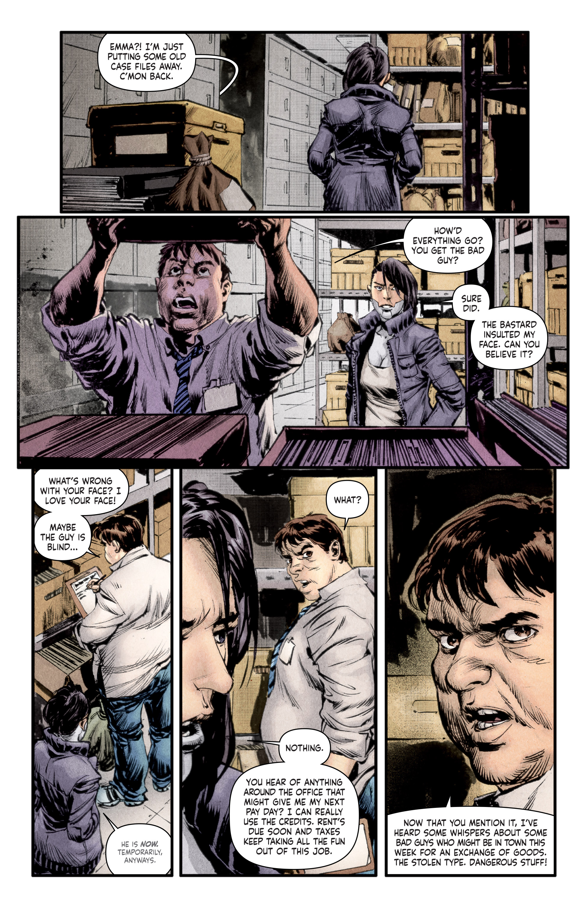 Read online Stained comic -  Issue #1 - 6
