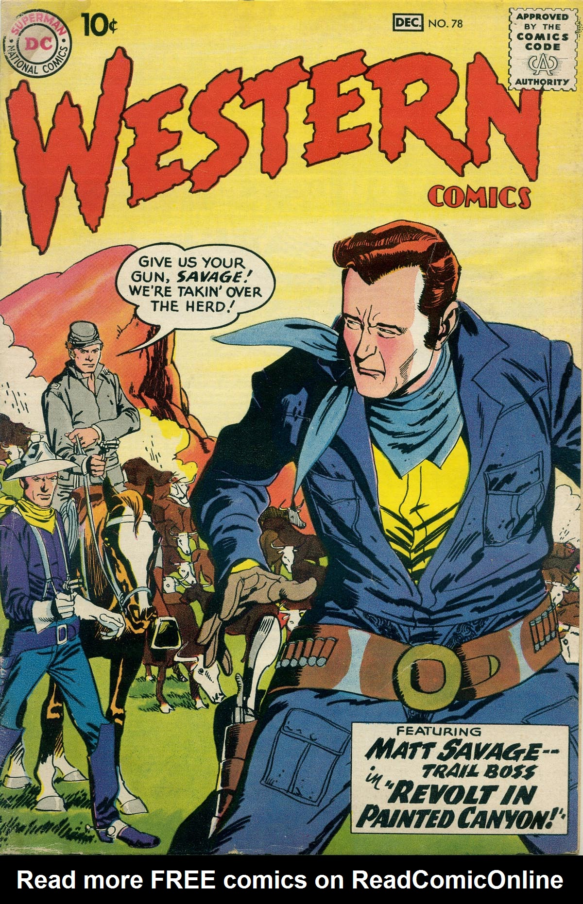 Western Comics 78 Page 1