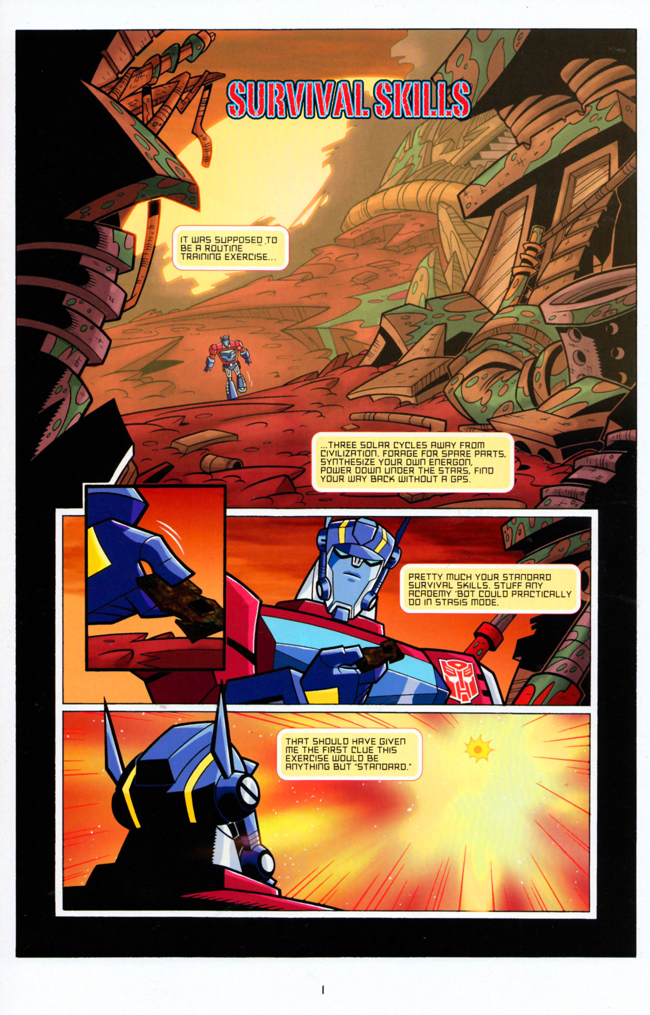 Read online Transformers Animated: The Arrival comic -  Issue #5 - 5