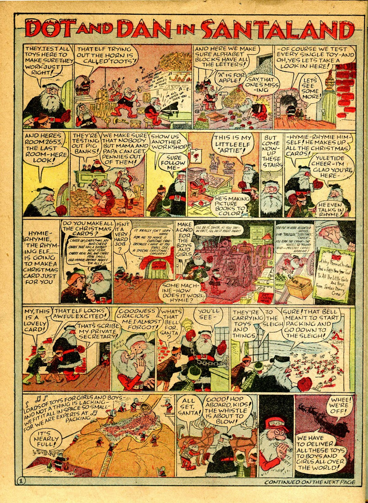 Read online Famous Funnies comic -  Issue #41 - 50