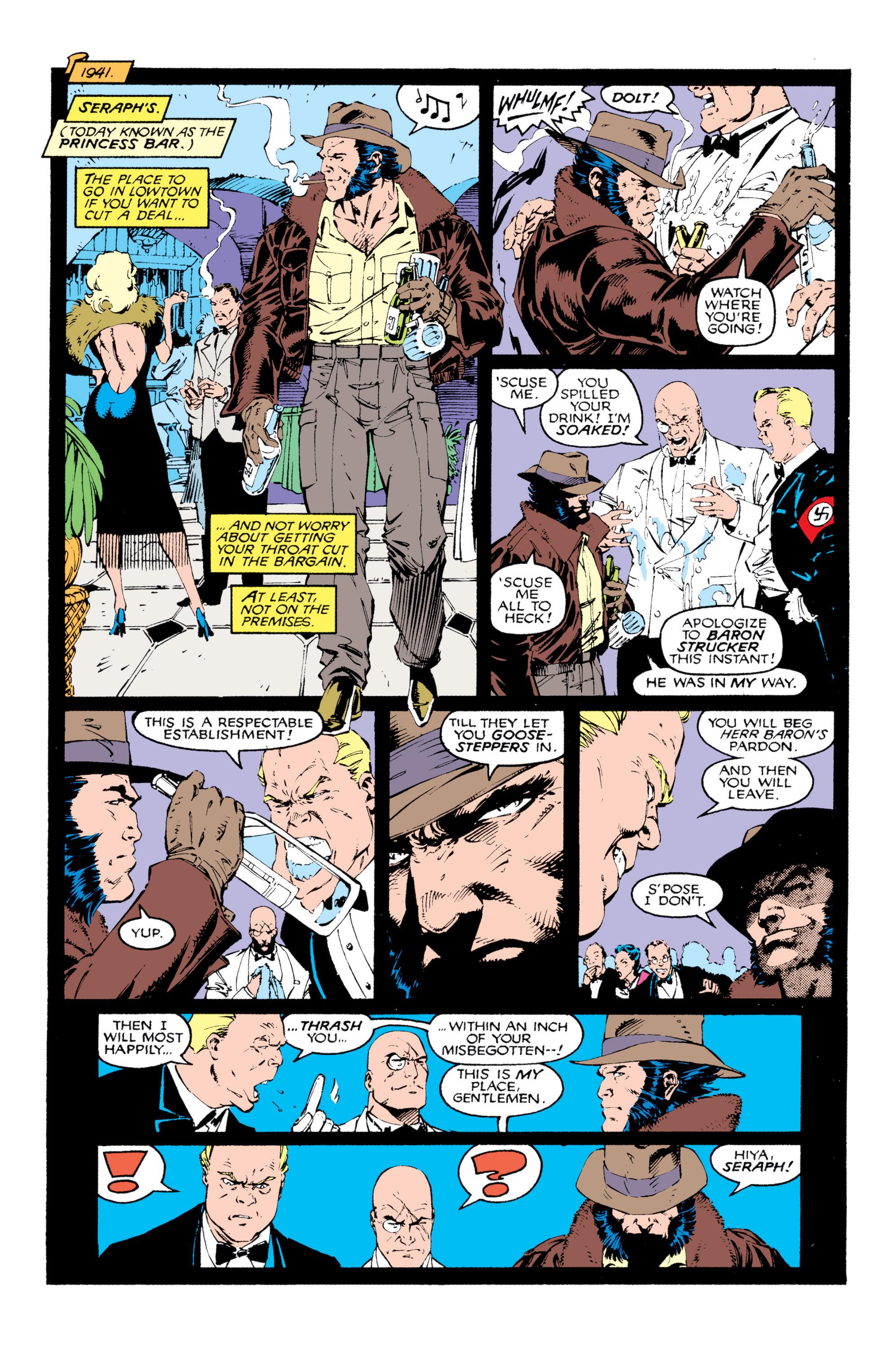 Read online Uncanny X-Men (1963) comic -  Issue #268 - 9