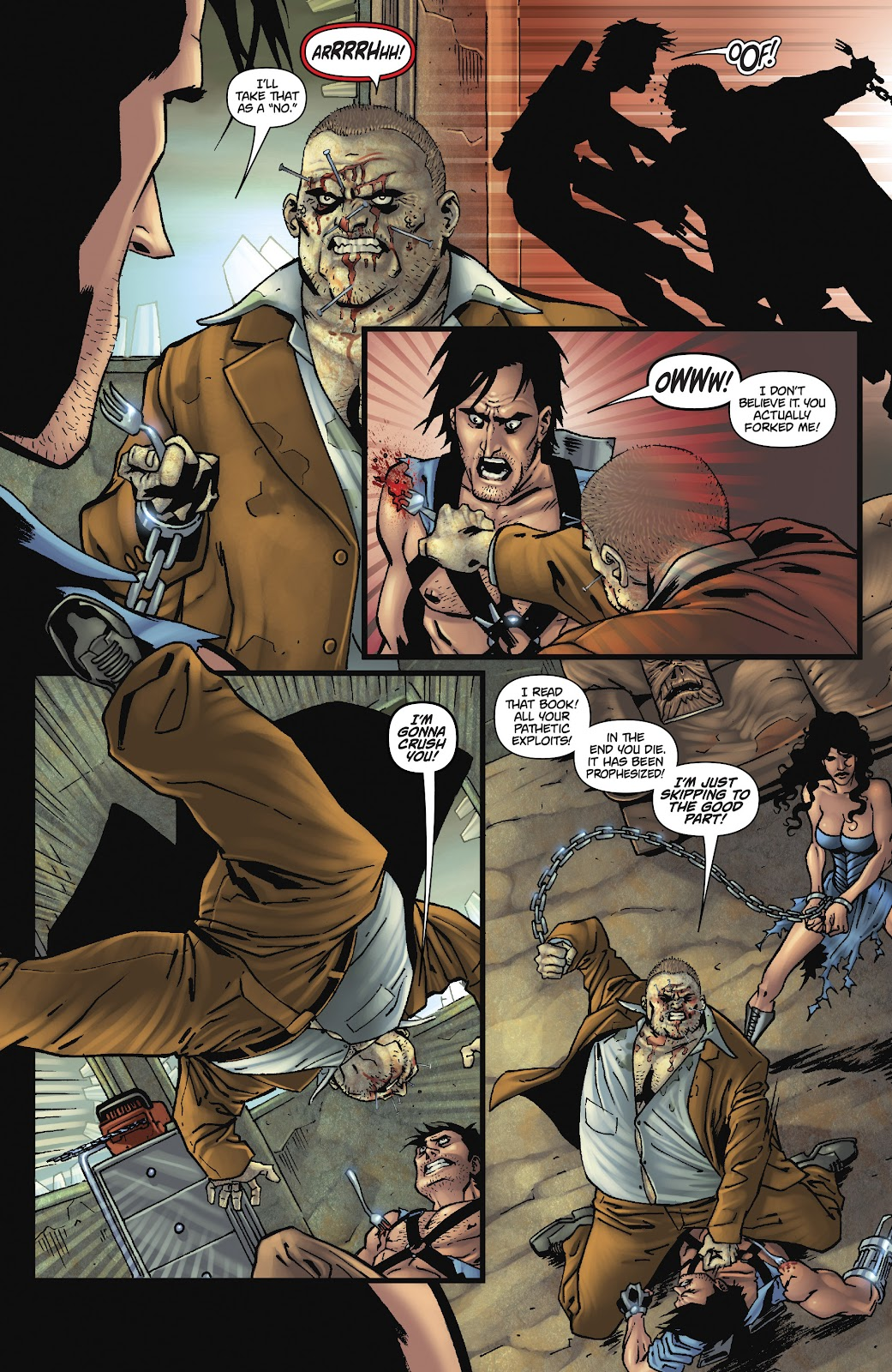 Army of Darkness: The Long Road Home issue TPB - Page 91