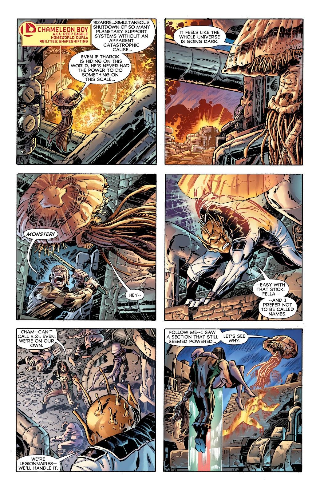 Legion of Super-Heroes (2011) Issue #17 #18 - English 8