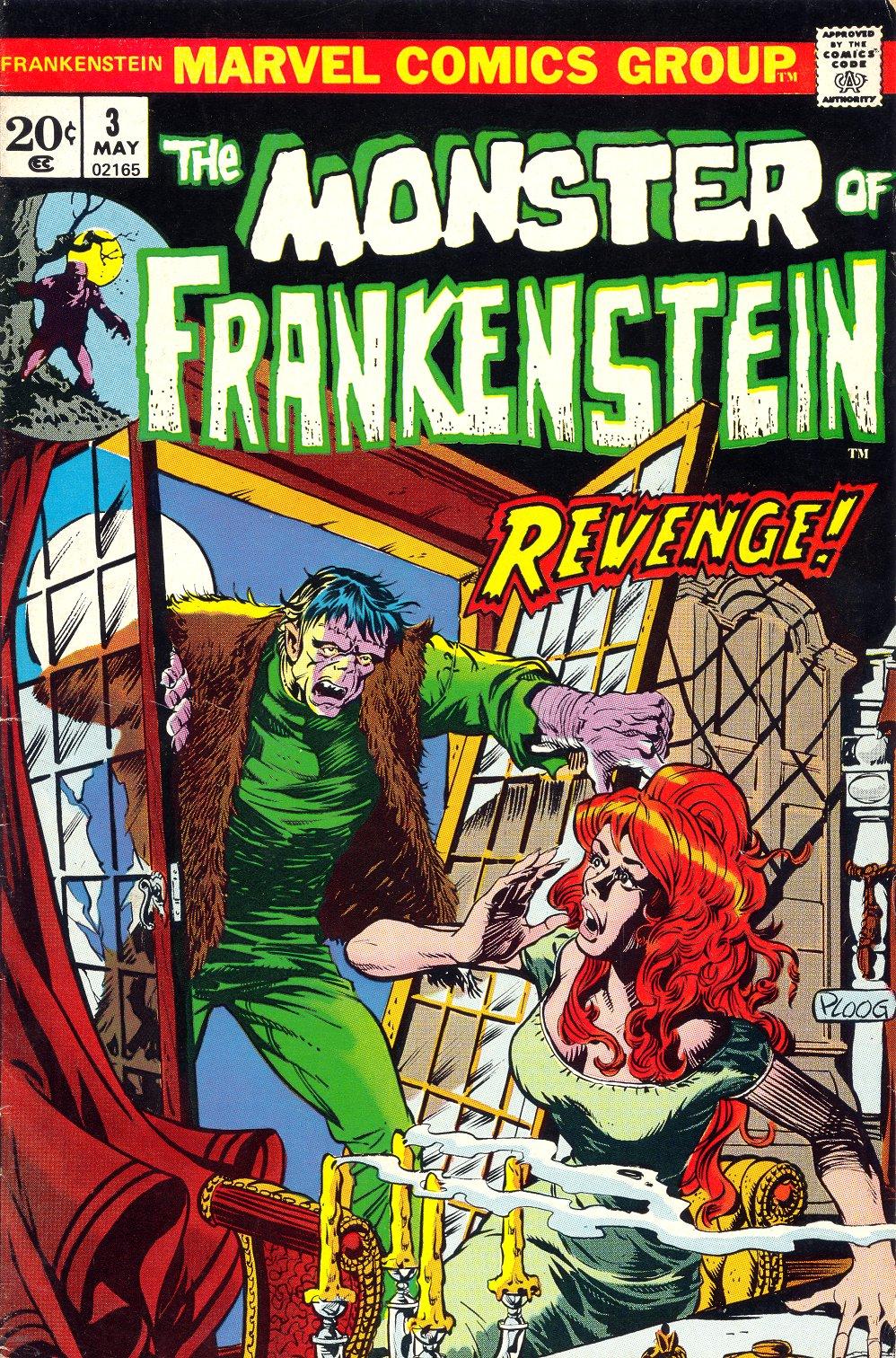 Frankenstein (1973) issue 3 - Page 1