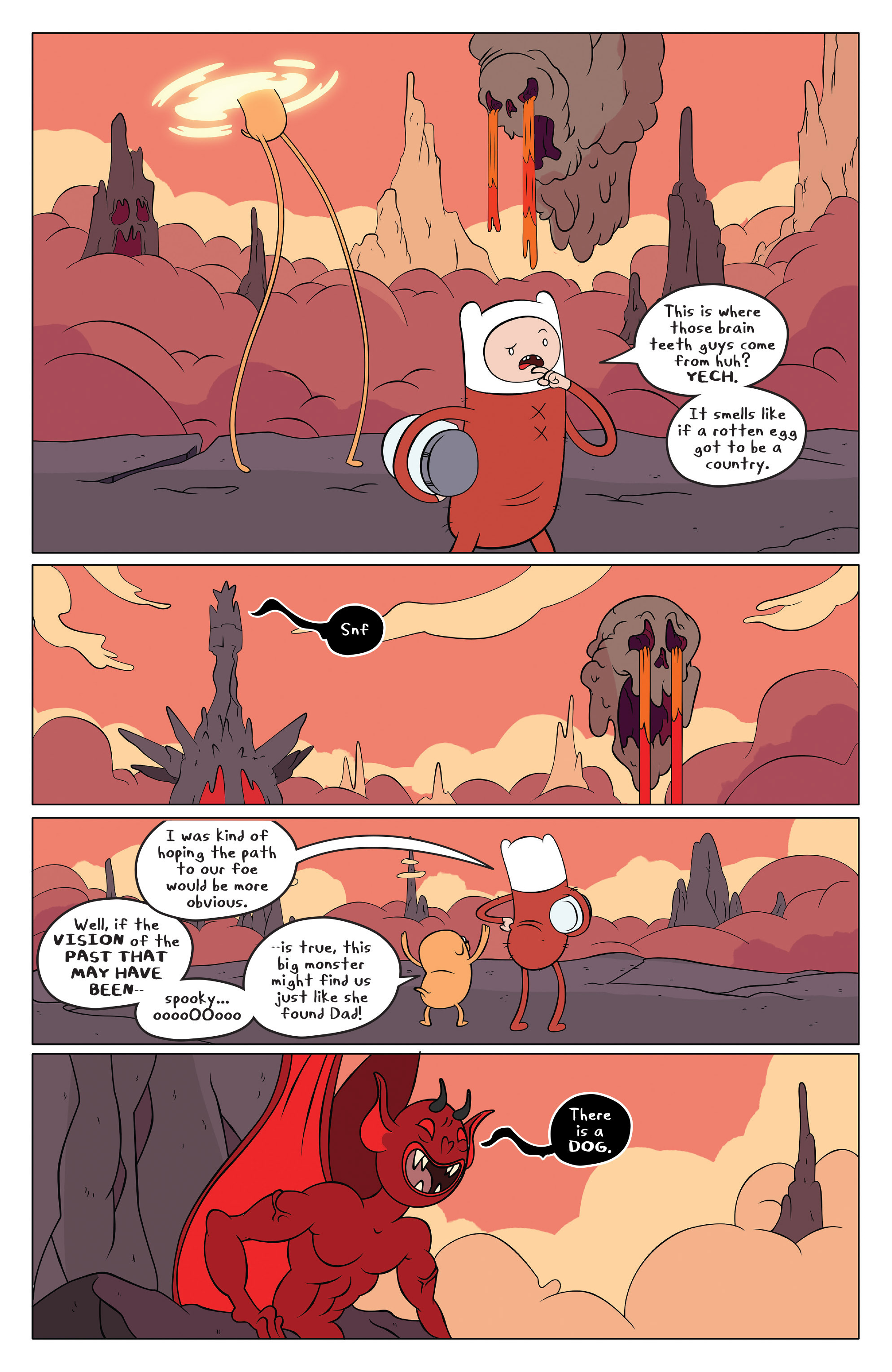 Read online Adventure Time comic -  Issue #49 - 6