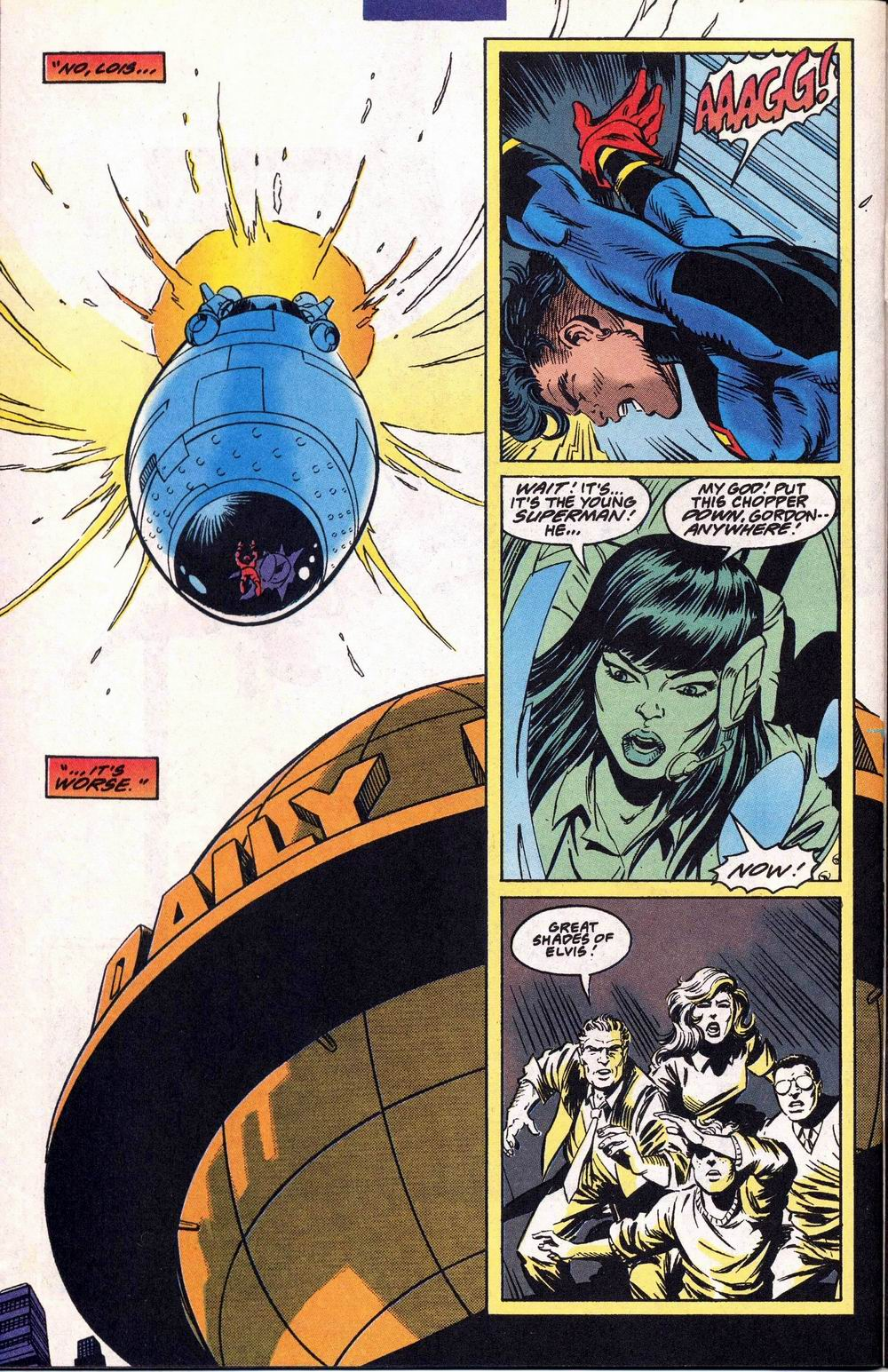 Read online Adventures of Superman (1987) comic -  Issue #504 - 21