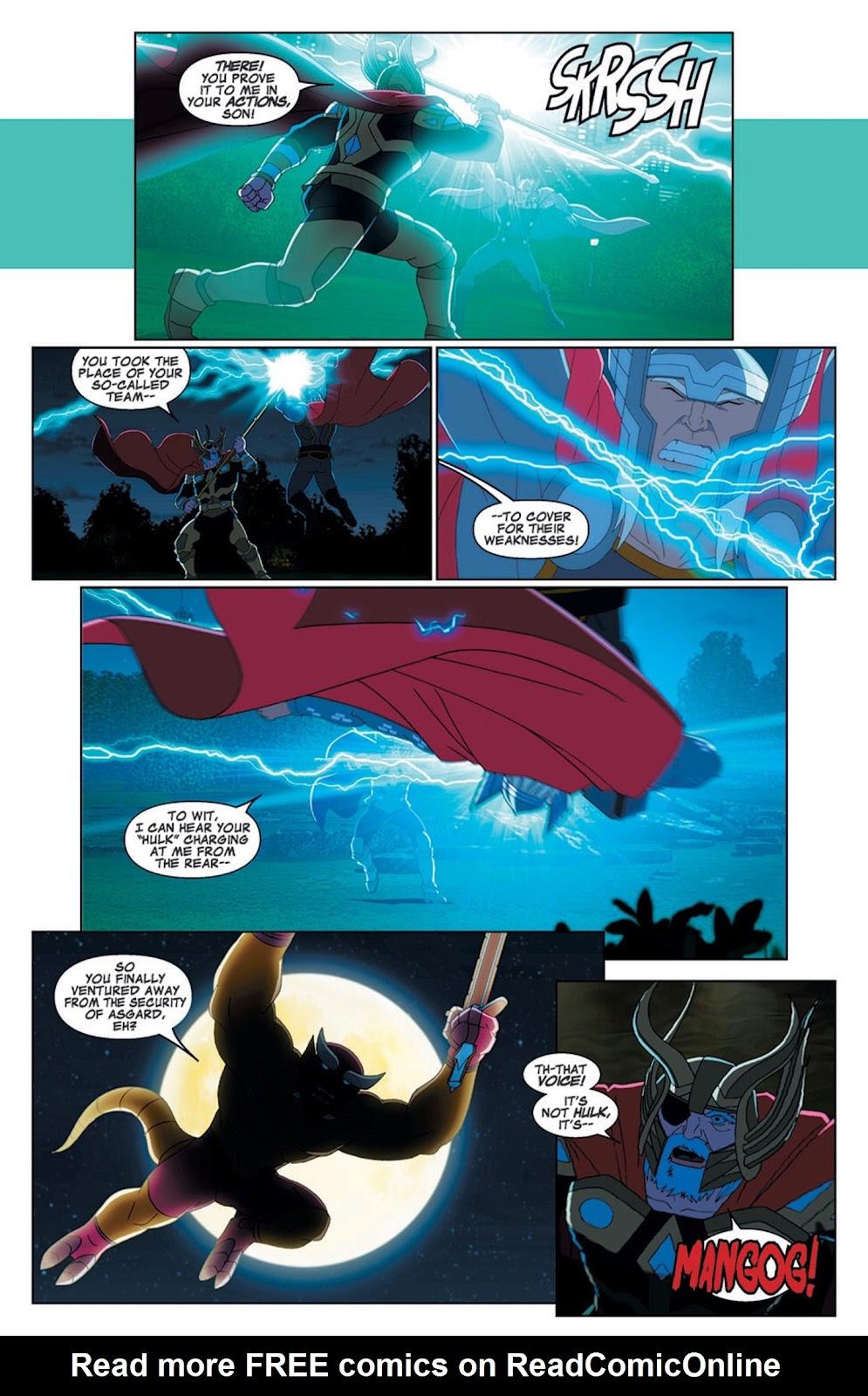 Read online Marvel Universe Avengers Assemble Season 2 comic -  Issue #7 - 11