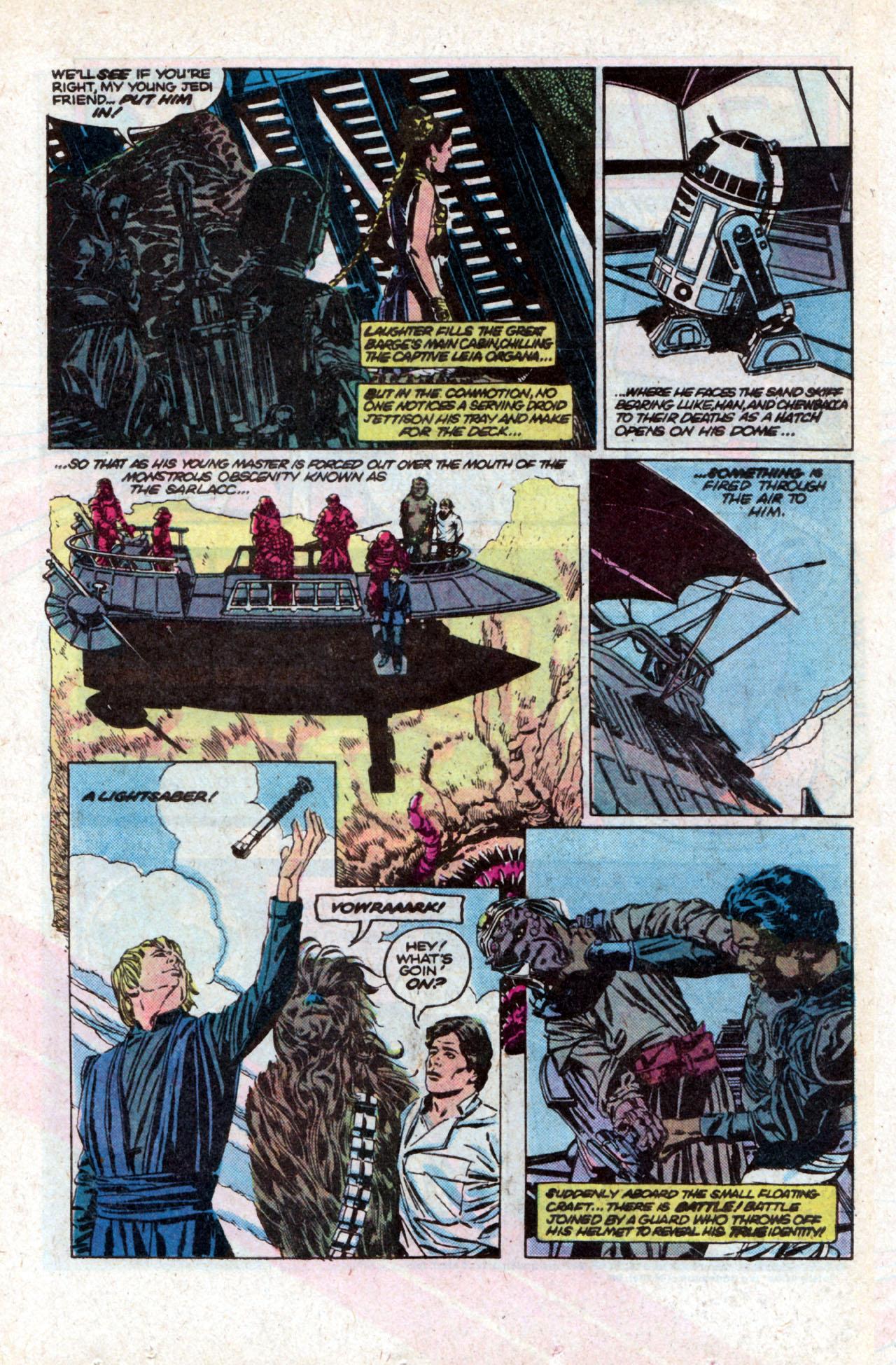 Read online Star Wars: Return of the Jedi comic -  Issue #2 - 5