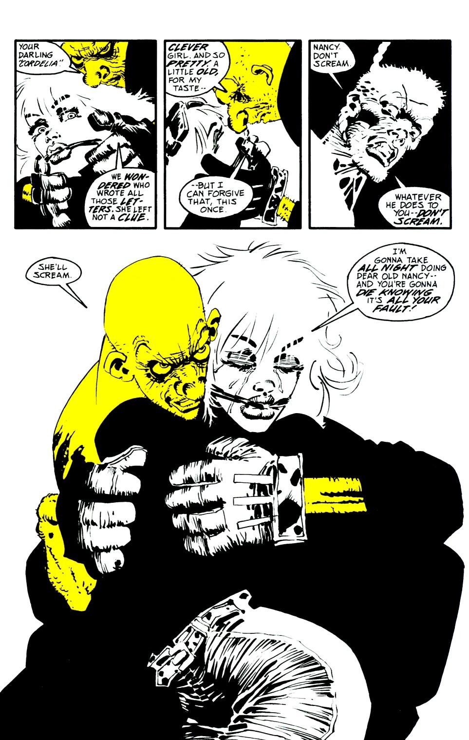Read online Sin City: That Yellow Bastard comic -  Issue #6 - 6