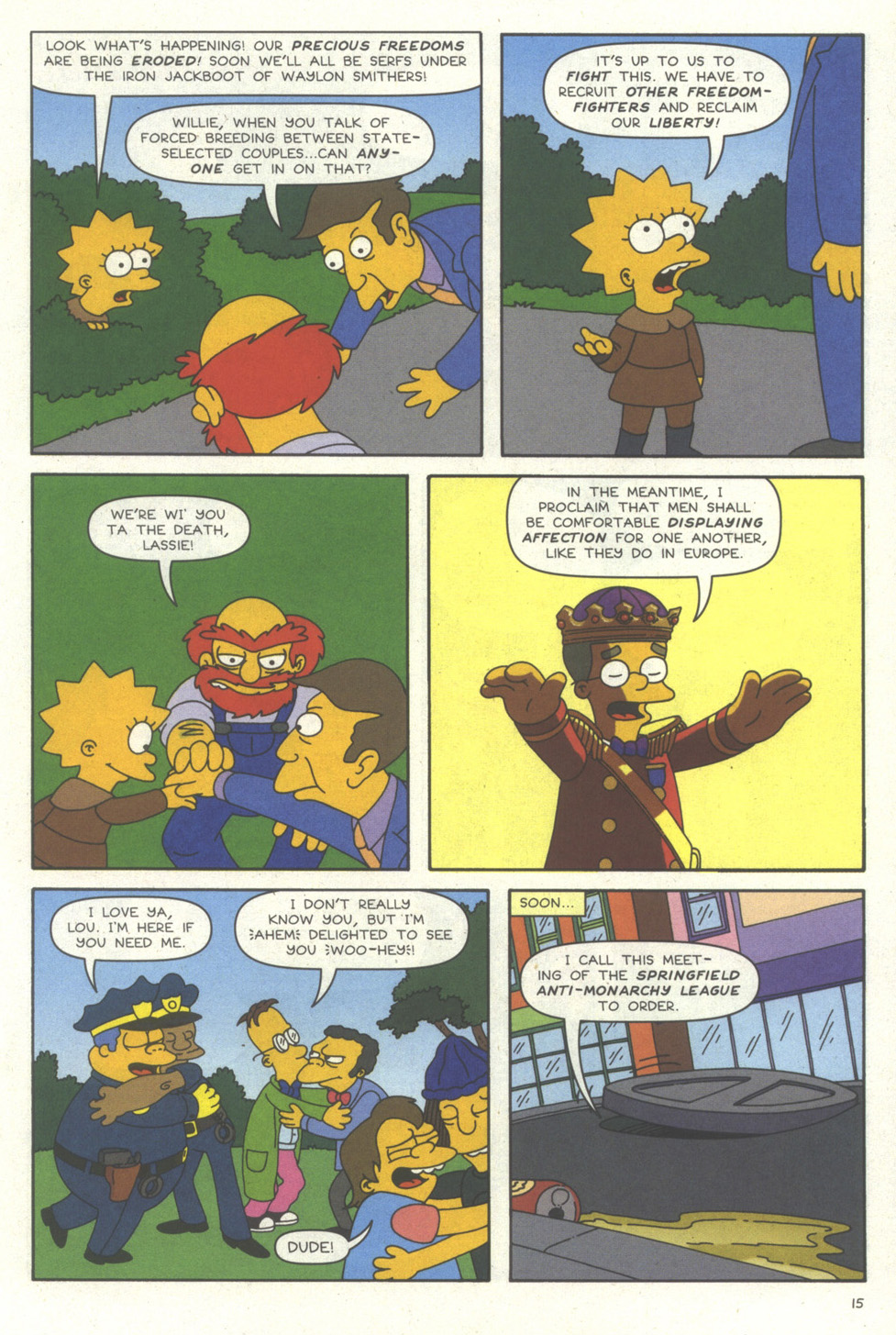 Read online Simpsons Comics comic -  Issue #56 - 16