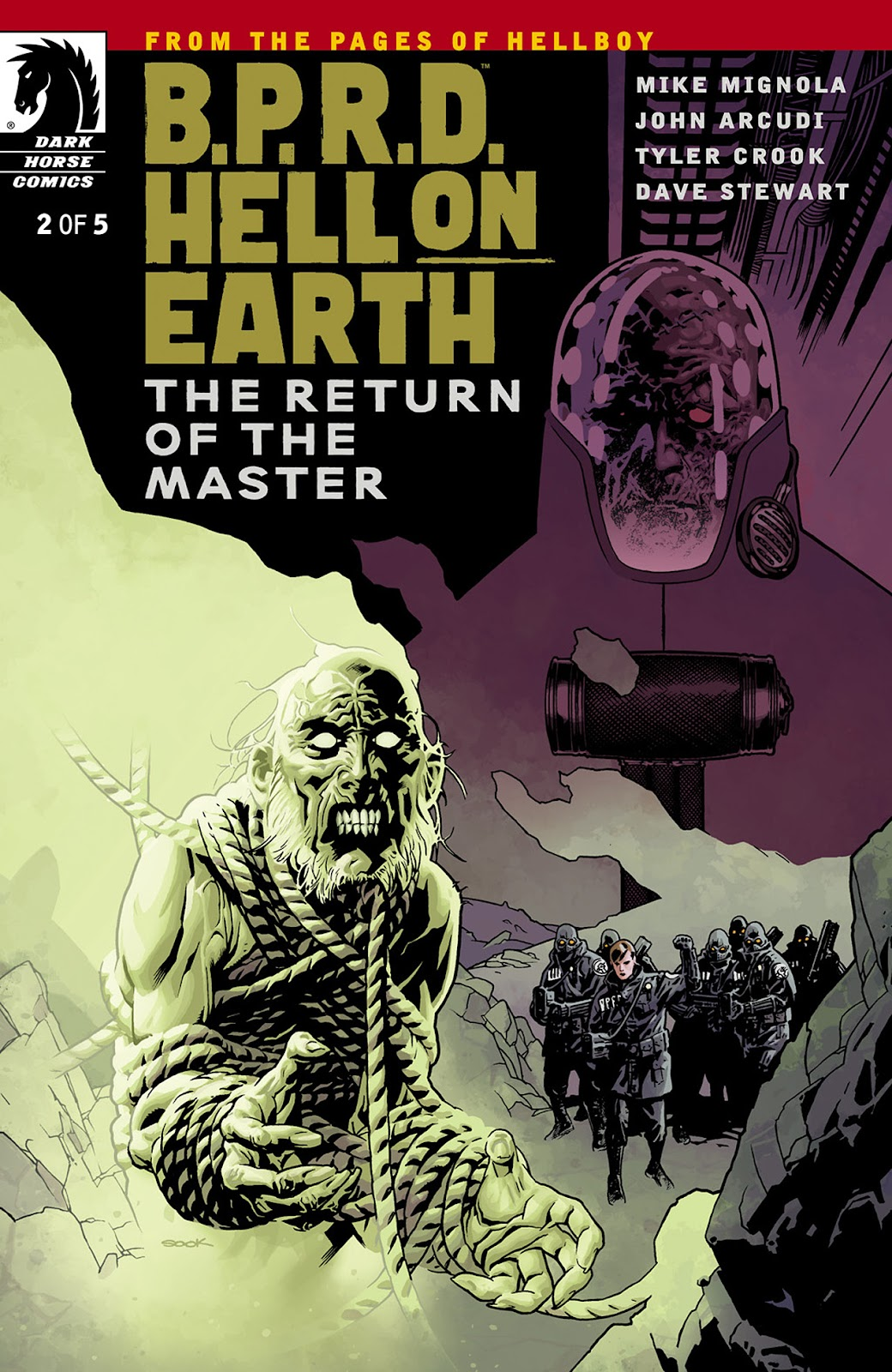 Read online B.P.R.D. Hell on Earth: The Return of the Master comic -  Issue #2 - 1