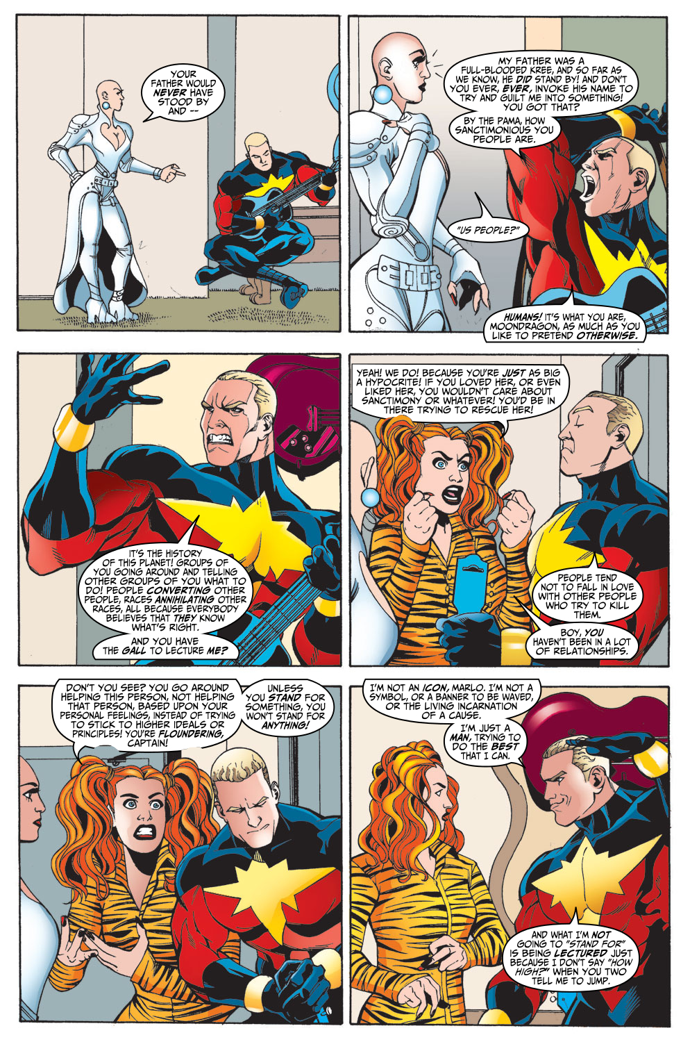 Captain Marvel (1999) Issue #15 #16 - English 7