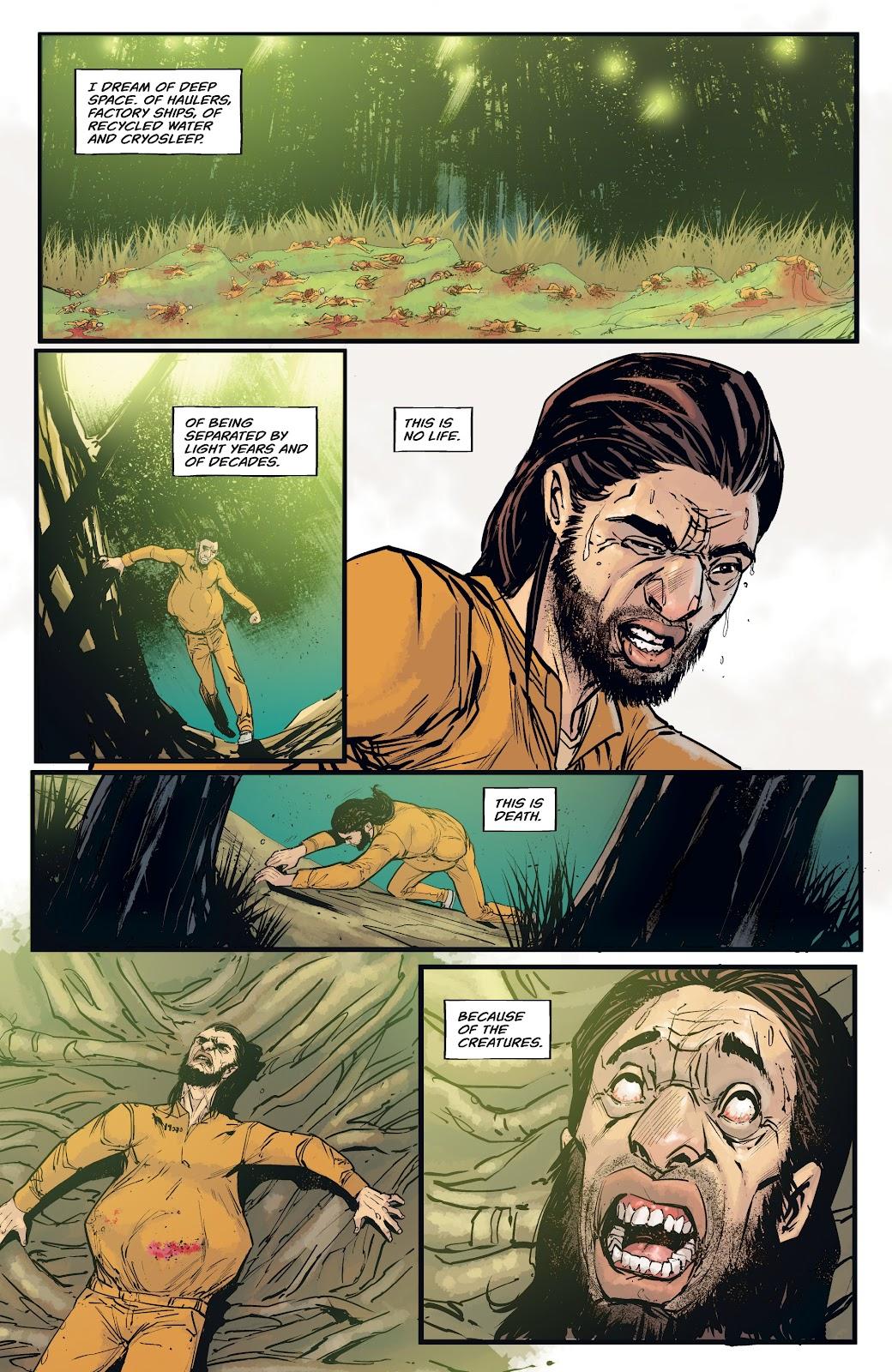 Read online Aliens: Resistance comic -  Issue #4 - 4