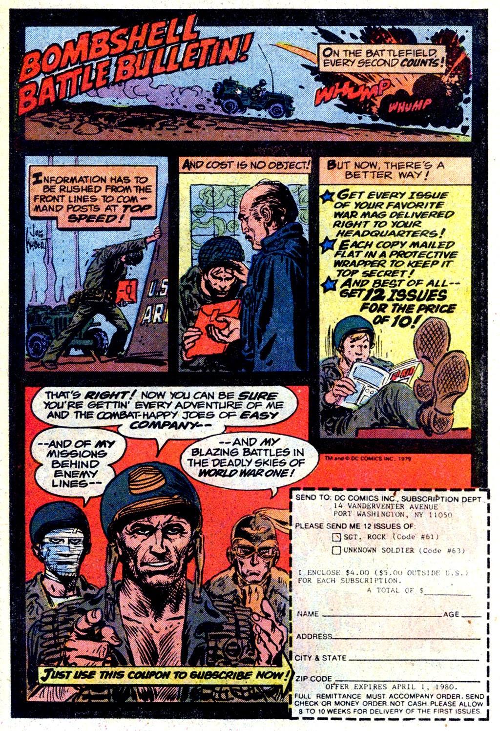 Read online Sgt. Rock comic -  Issue #339 - 19
