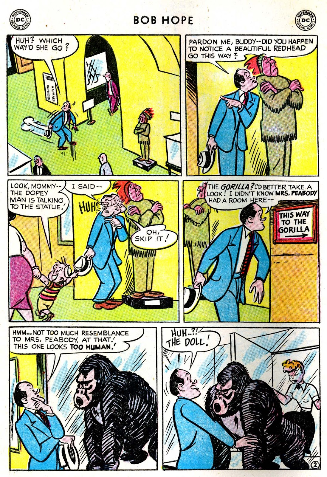 The Adventures of Bob Hope issue 33 - Page 4
