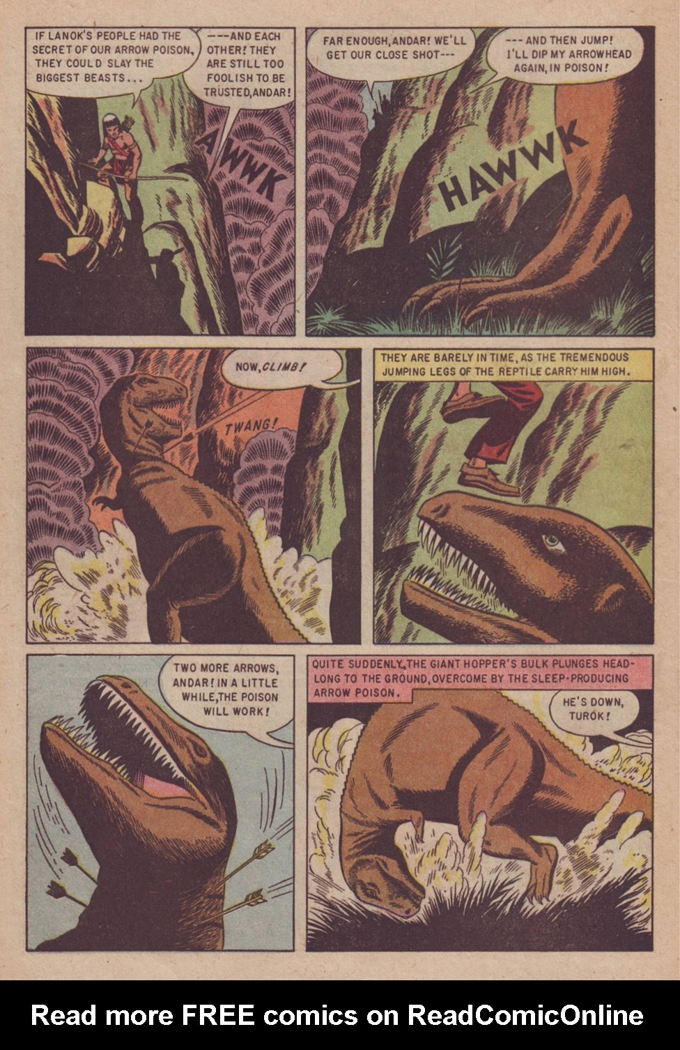 Read online Turok, Son of Stone comic -  Issue #3 - 8