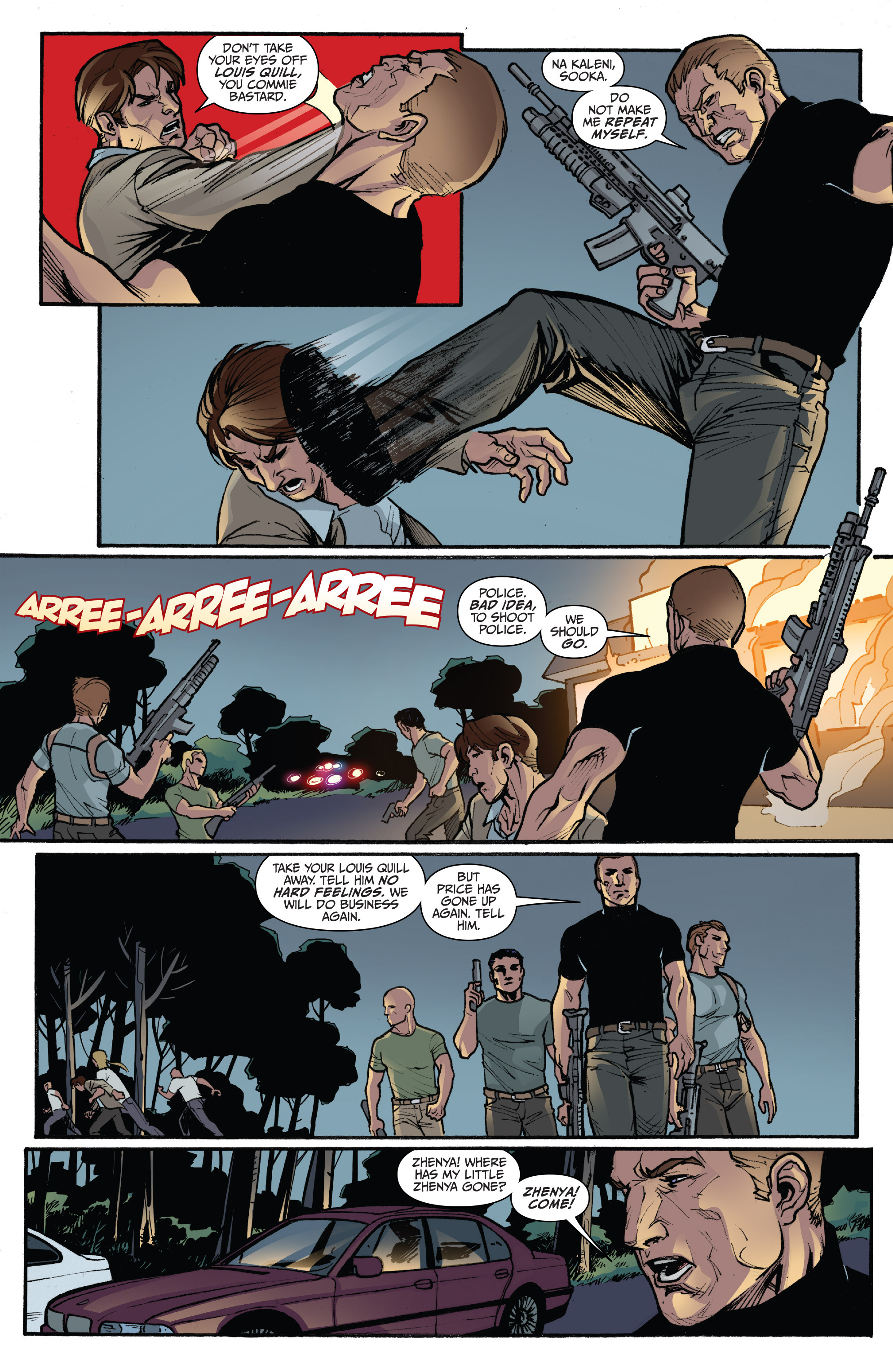 Read online 3 Guns comic -  Issue #3 - 18