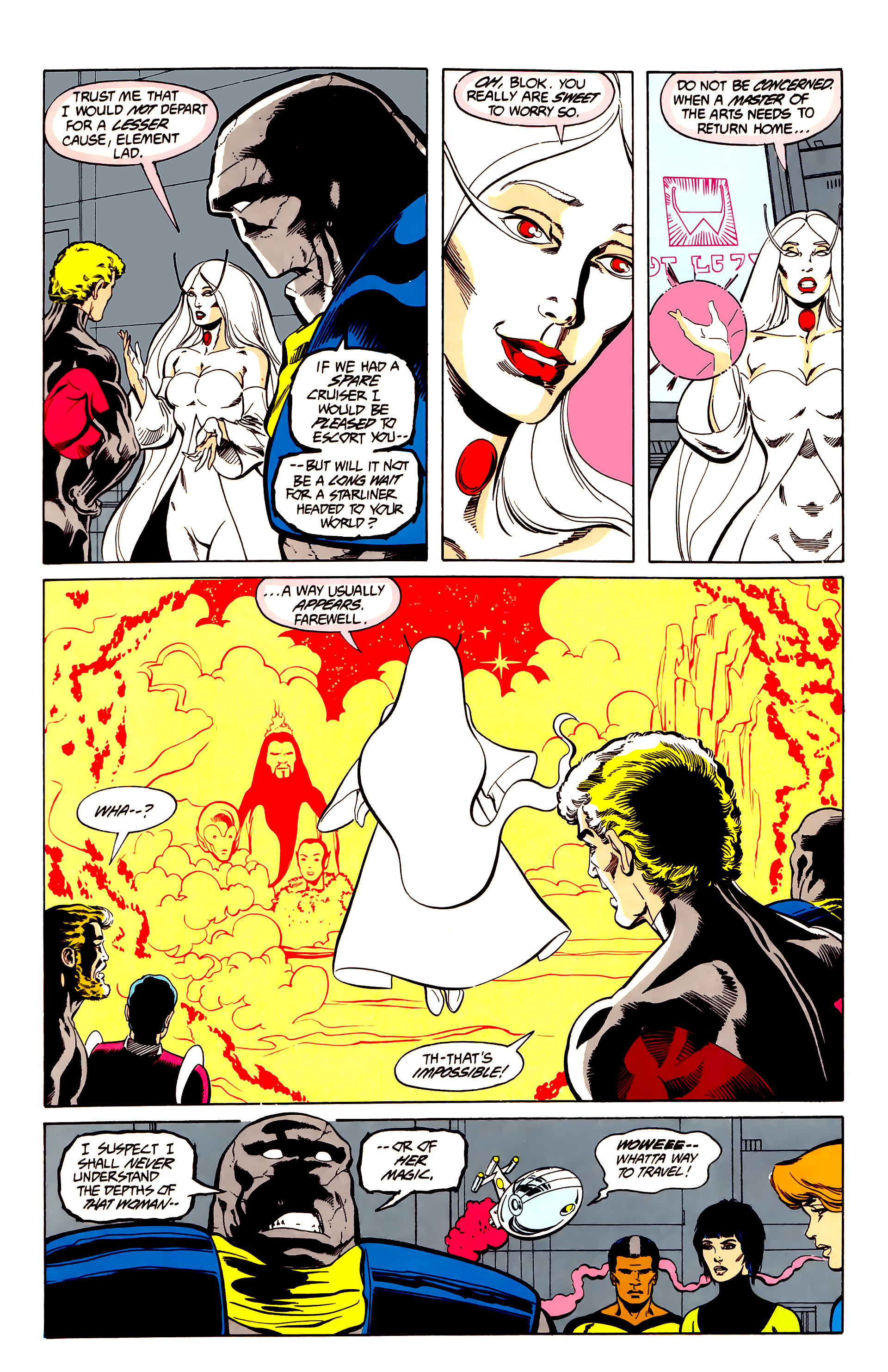 Legion of Super-Heroes (1984) 26 Page 12