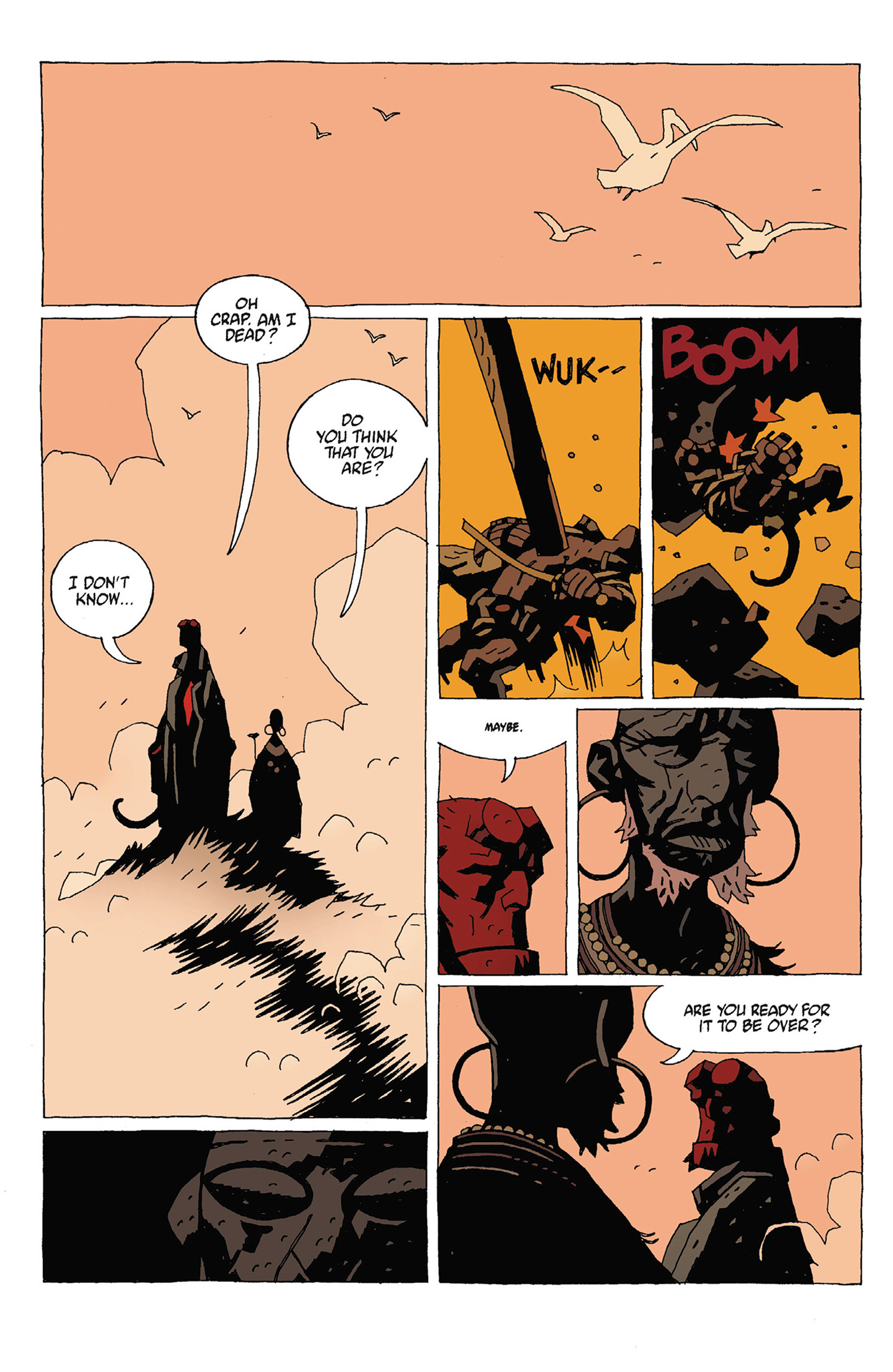 Read online Hellboy: Strange Places comic -  Issue # TPB - 96