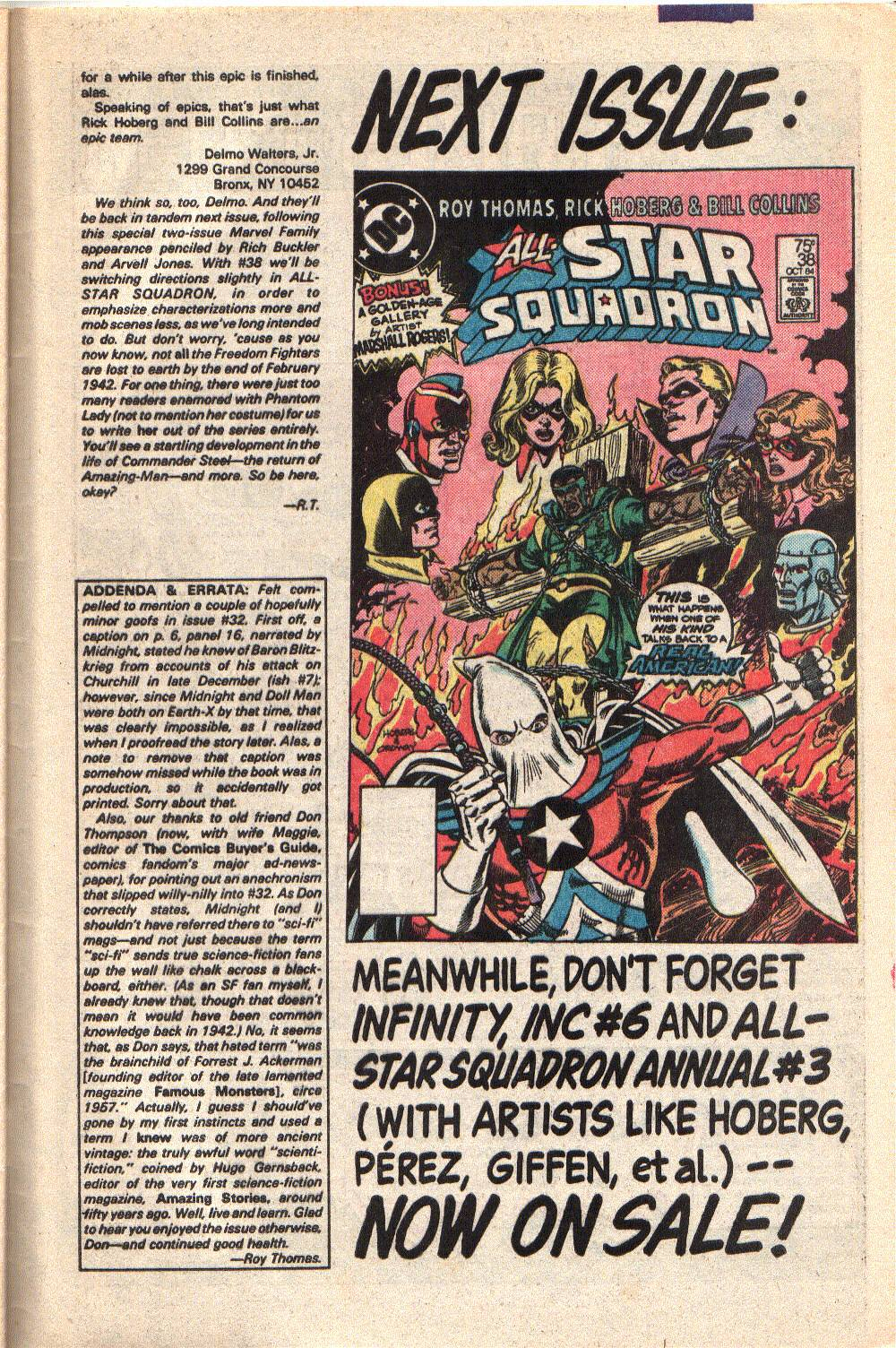 Read online All-Star Squadron comic -  Issue #37 - 33