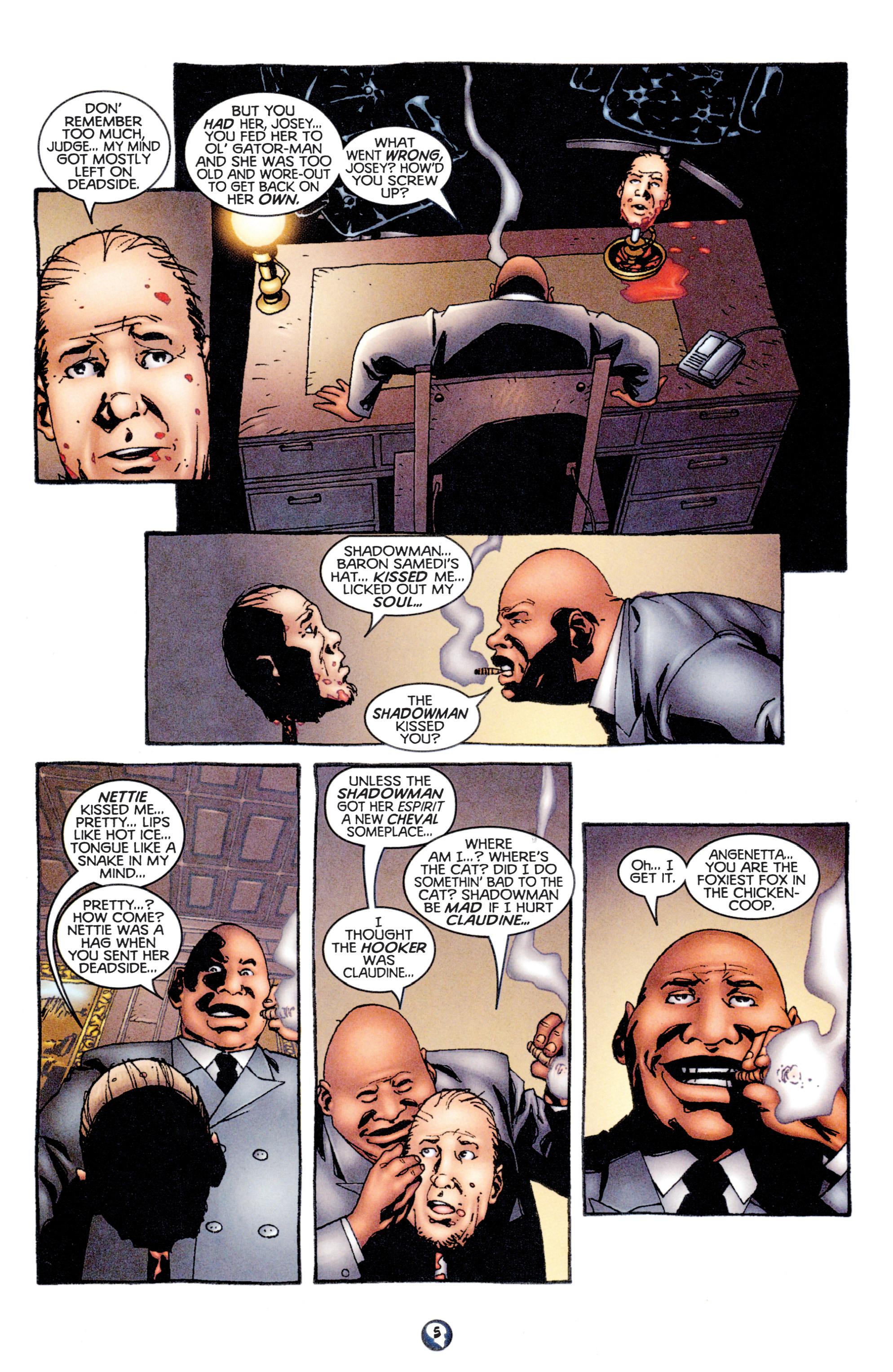 Read online Shadowman (1997) comic -  Issue #12 - 6