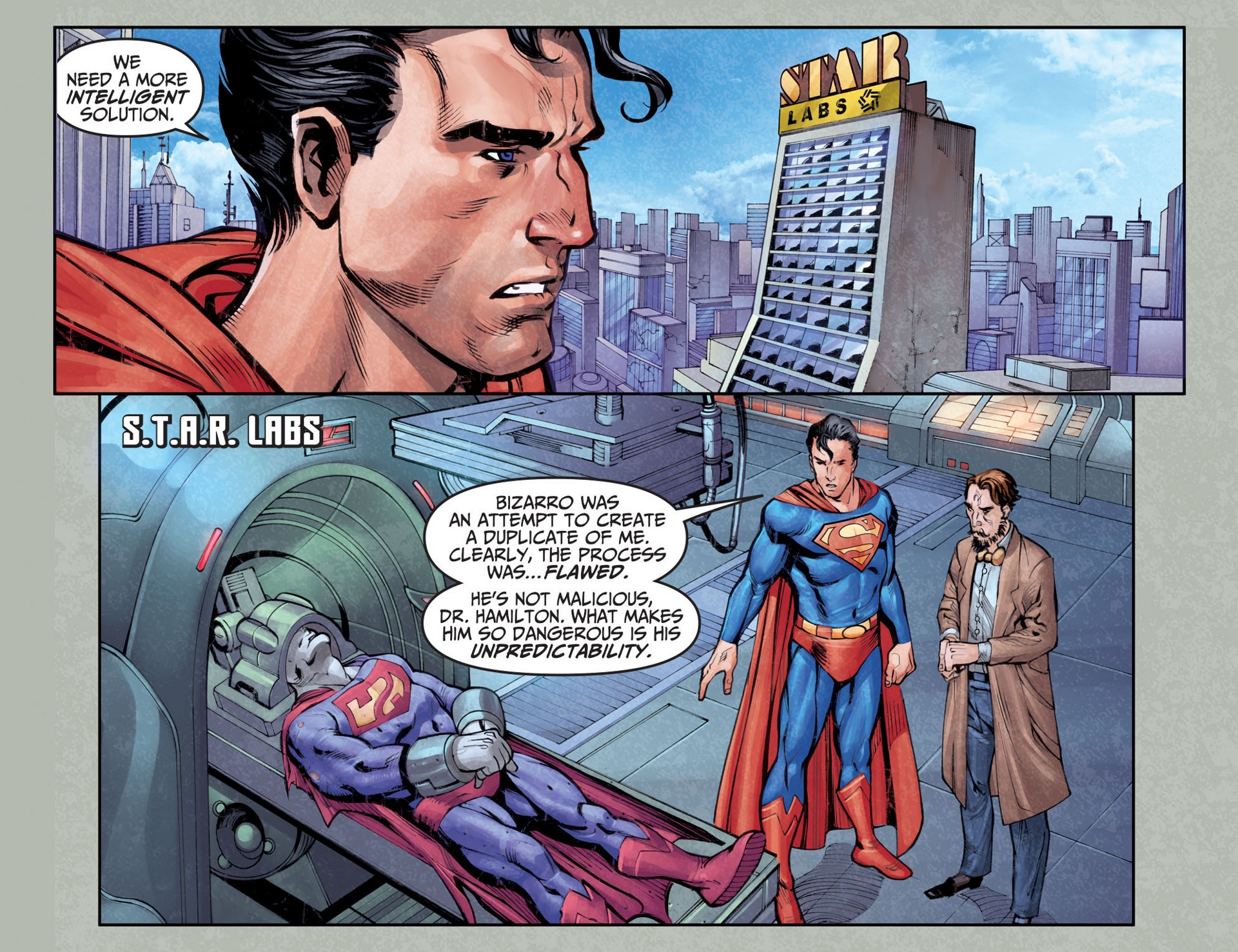 Read online Adventures of Superman [I] comic -  Issue #25 - 10