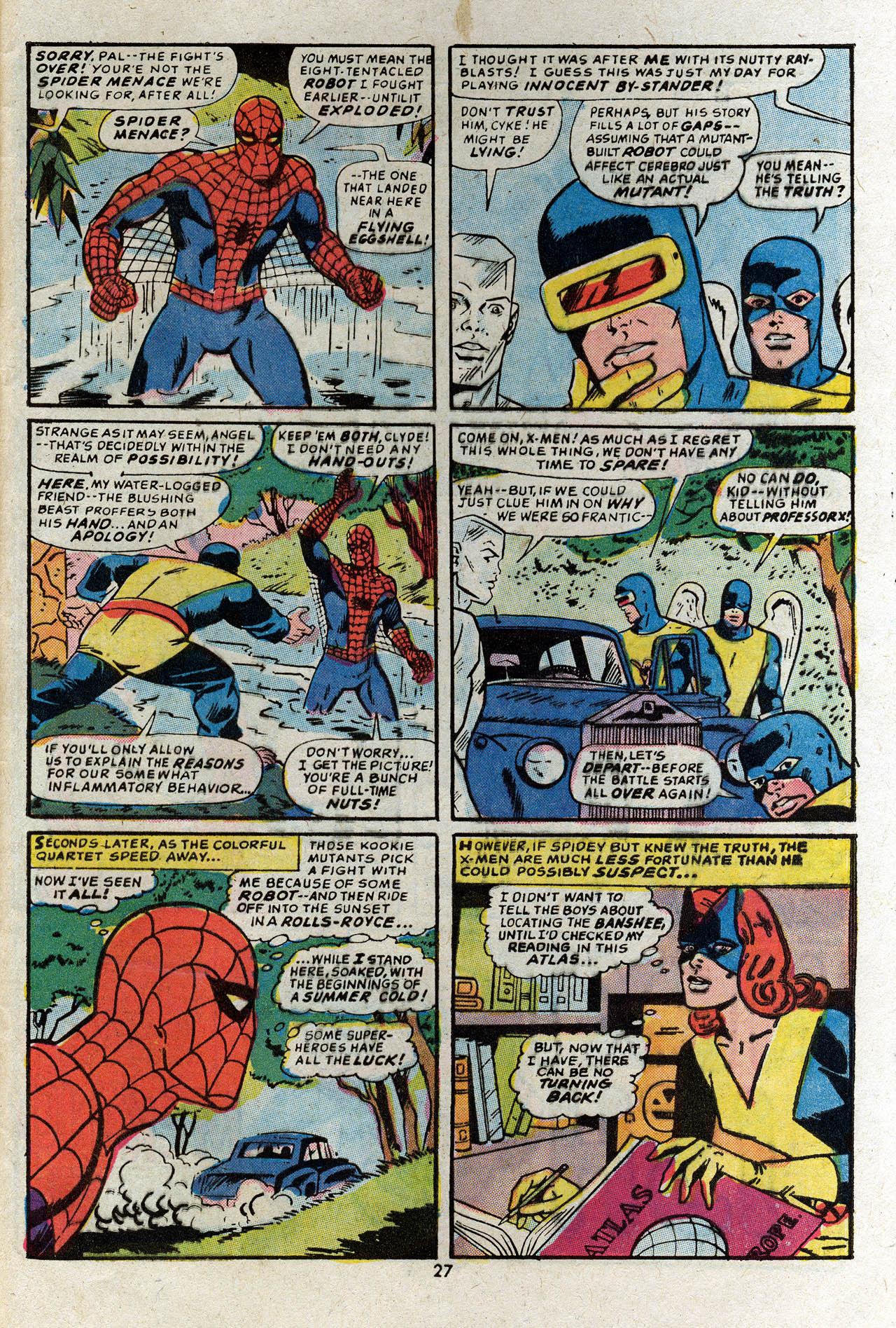Read online Uncanny X-Men (1963) comic -  Issue #83 - 29