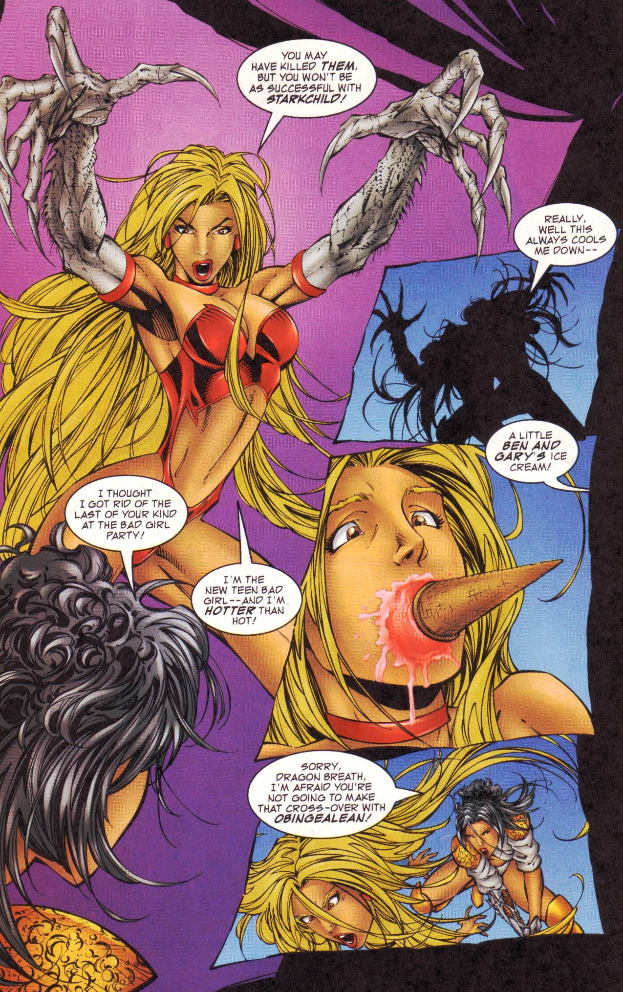 Read online Avengeblade comic -  Issue #2 - 18
