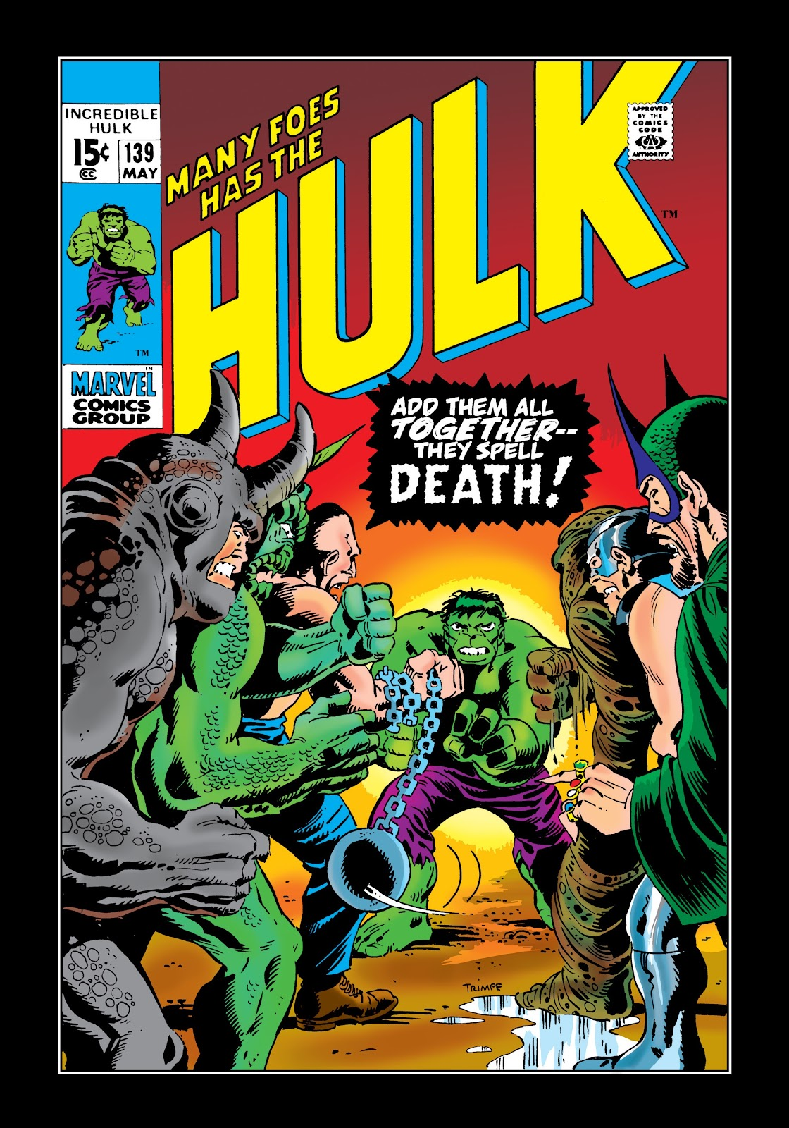 Read online Marvel Masterworks: The Incredible Hulk comic -  Issue # TPB 7 (Part 1) - 87