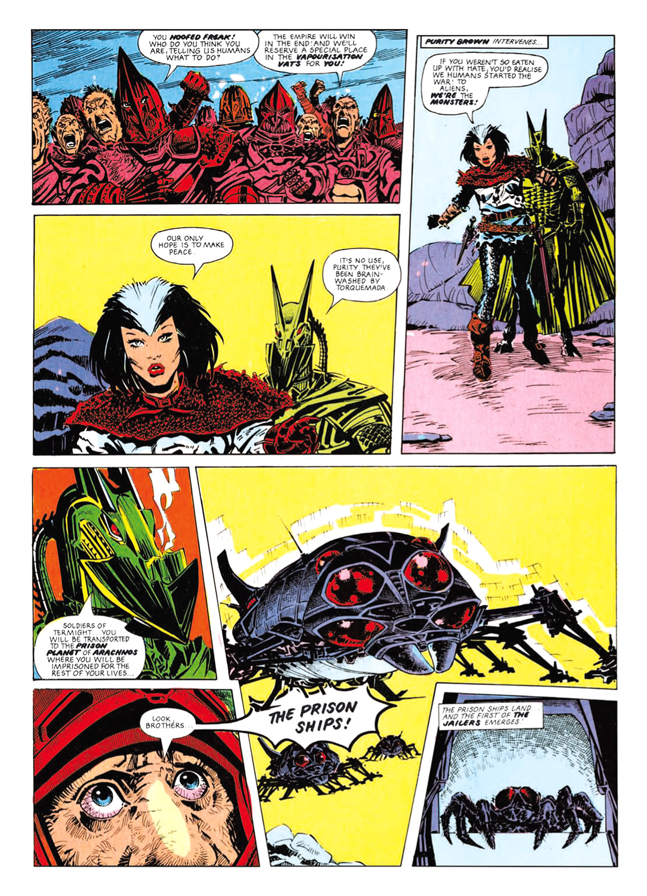 Read online Nemesis The Warlock comic -  Issue # TPB Deviant Edition - 118