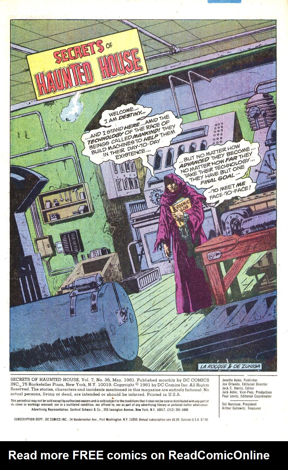 Read online Secrets of Haunted House comic -  Issue #36 - 2