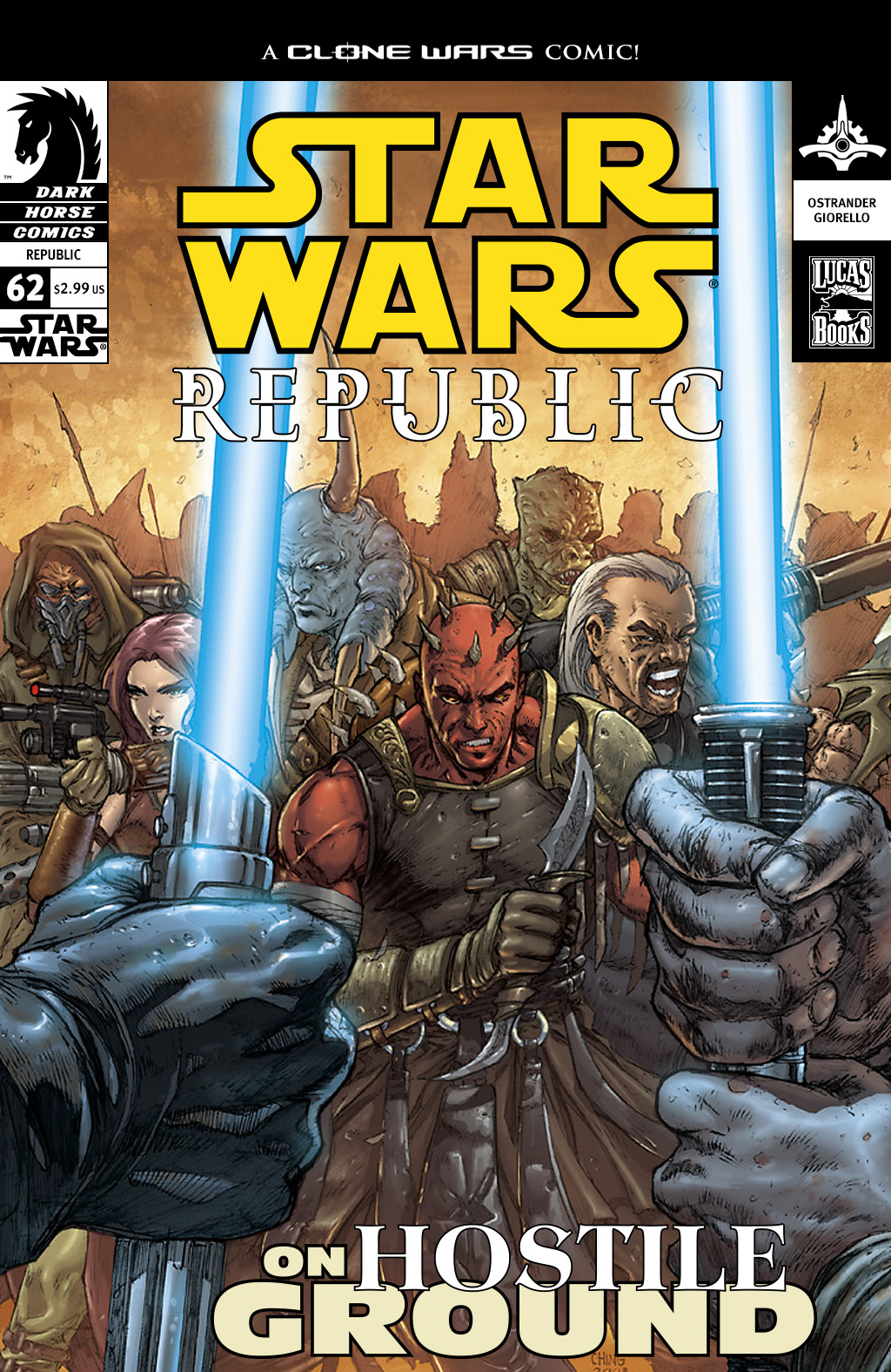 Star Wars: Republic 62 Page 1