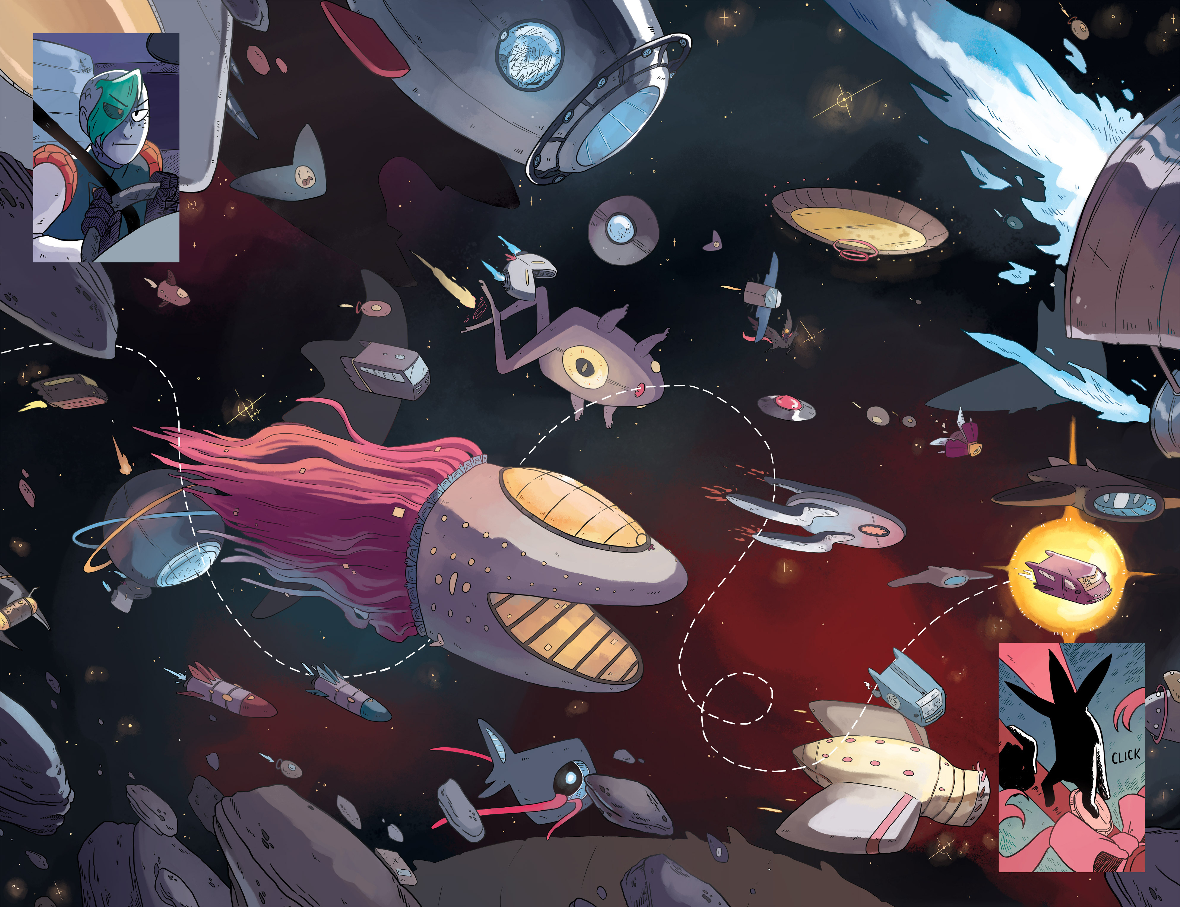 Read online Space Battle Lunchtime comic -  Issue #6 - 16
