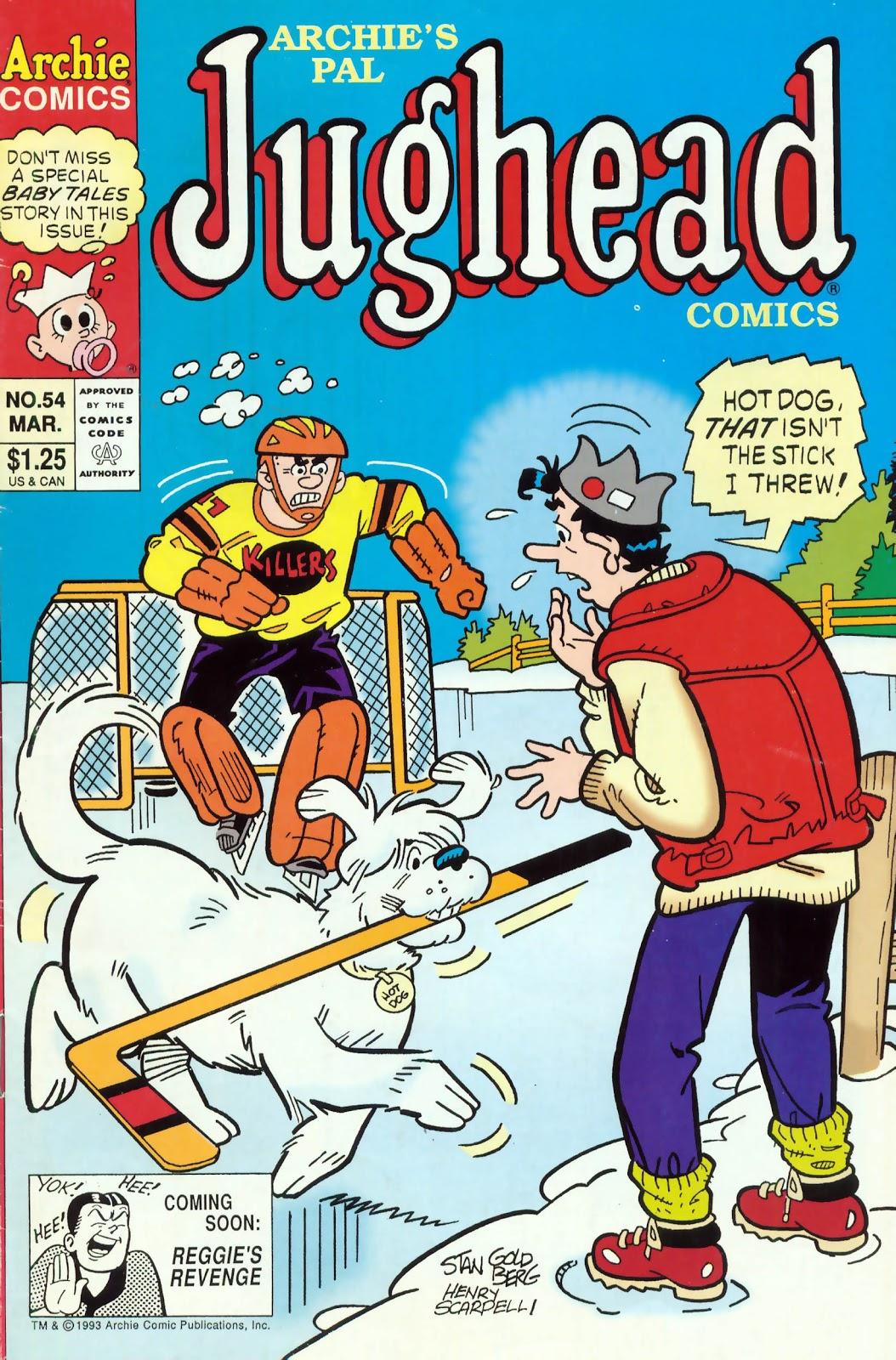 Read online Archie's Pal Jughead Comics comic -  Issue #54 - 1