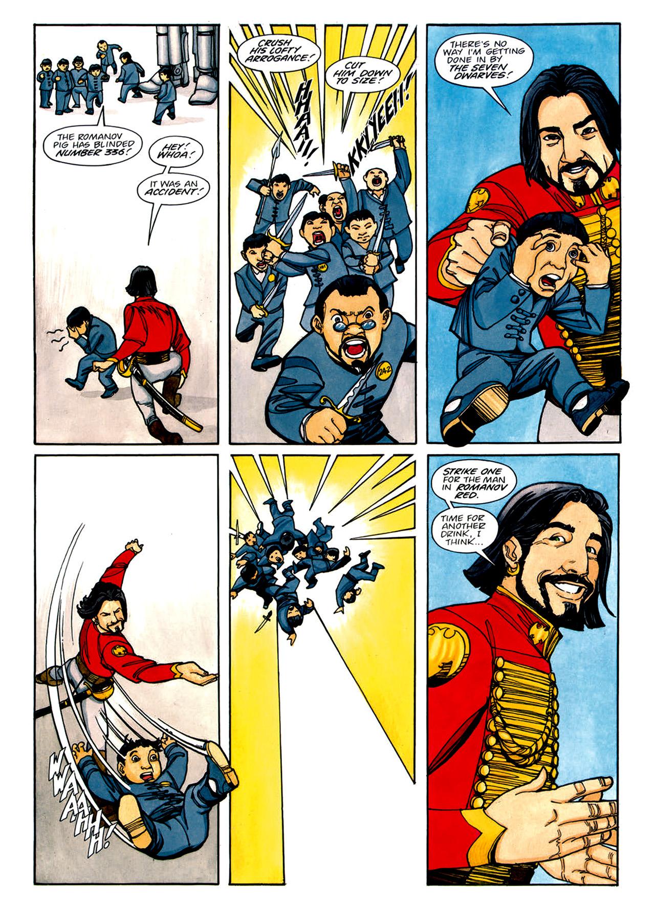 Read online Nikolai Dante comic -  Issue # TPB 1 - 139