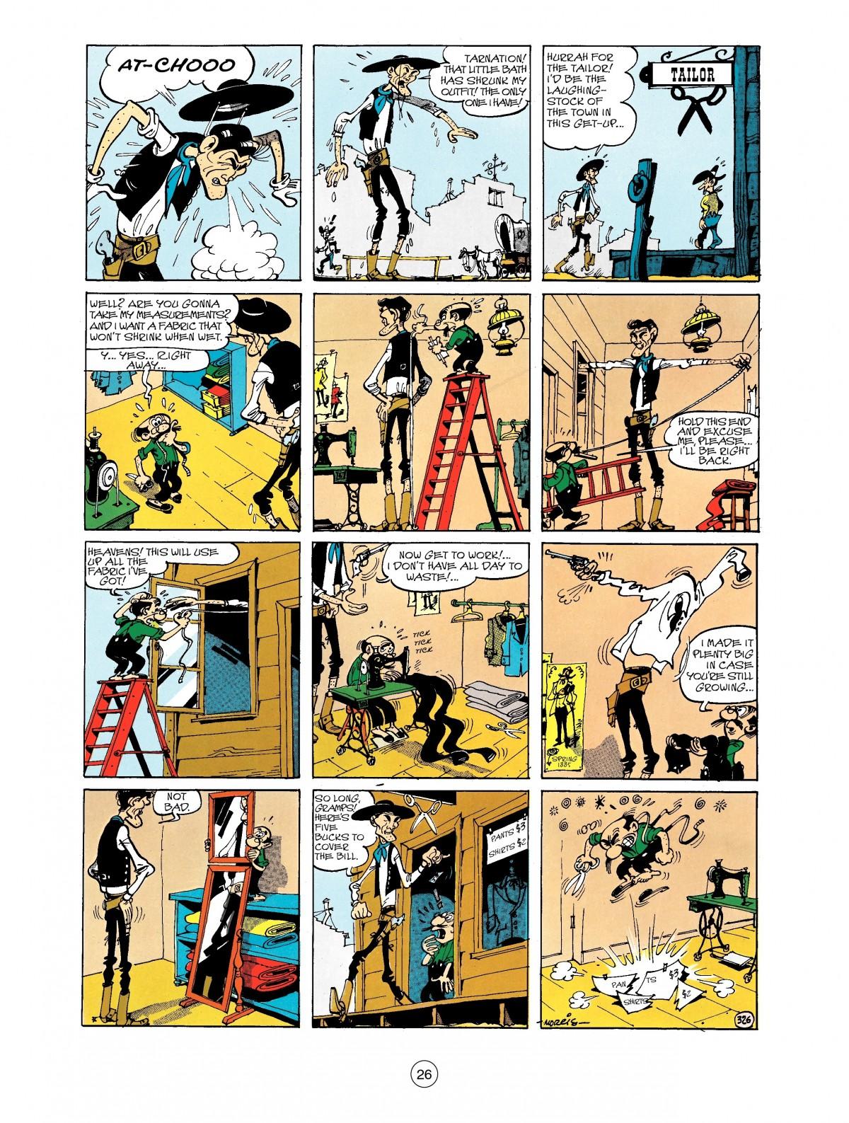 Read online A Lucky Luke Adventure comic -  Issue #40 - 26