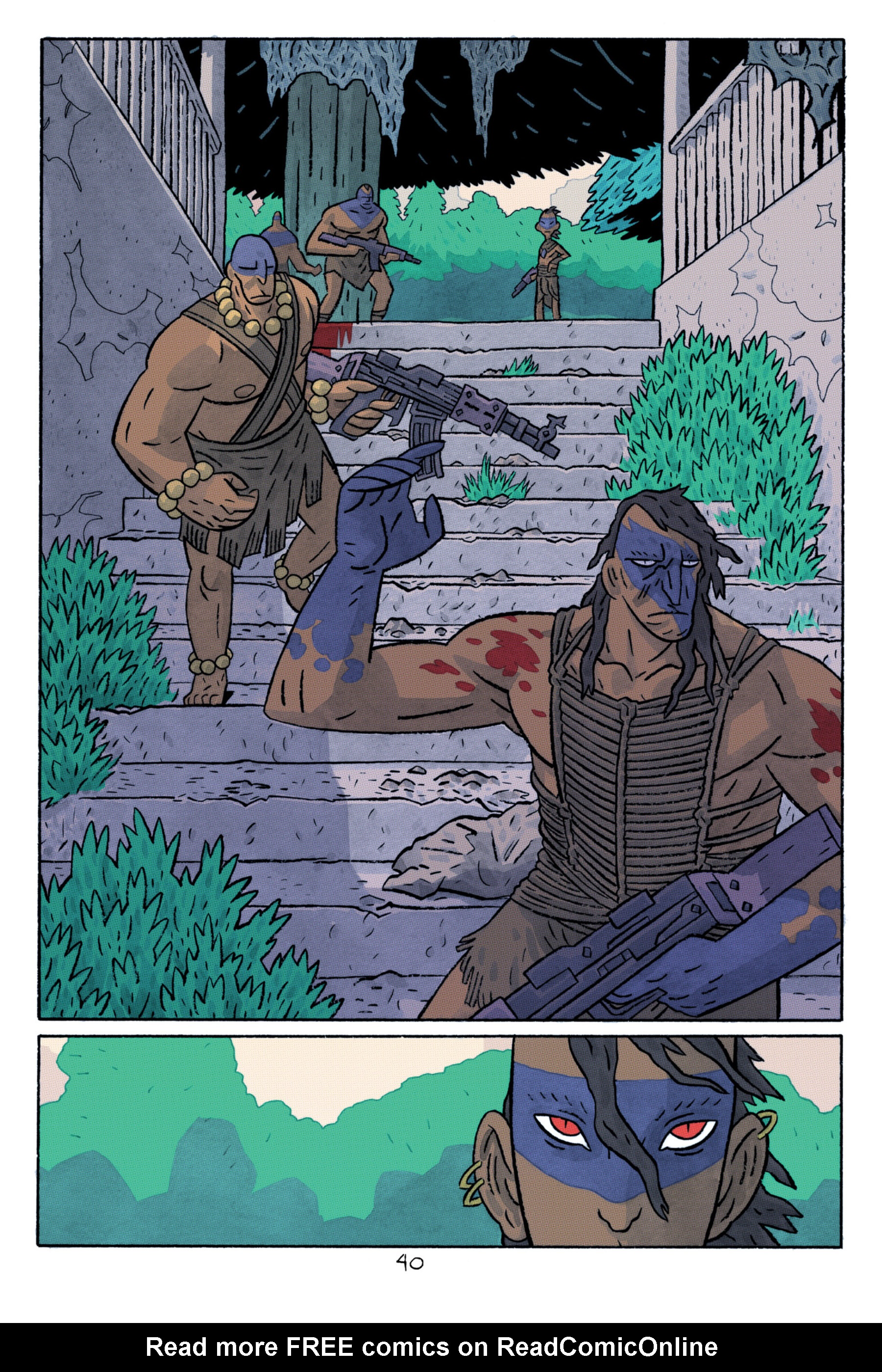 Read online ApocalyptiGirl: An Aria for the End Times comic -  Issue #ApocalyptiGirl: An Aria for the End Times Full - 48