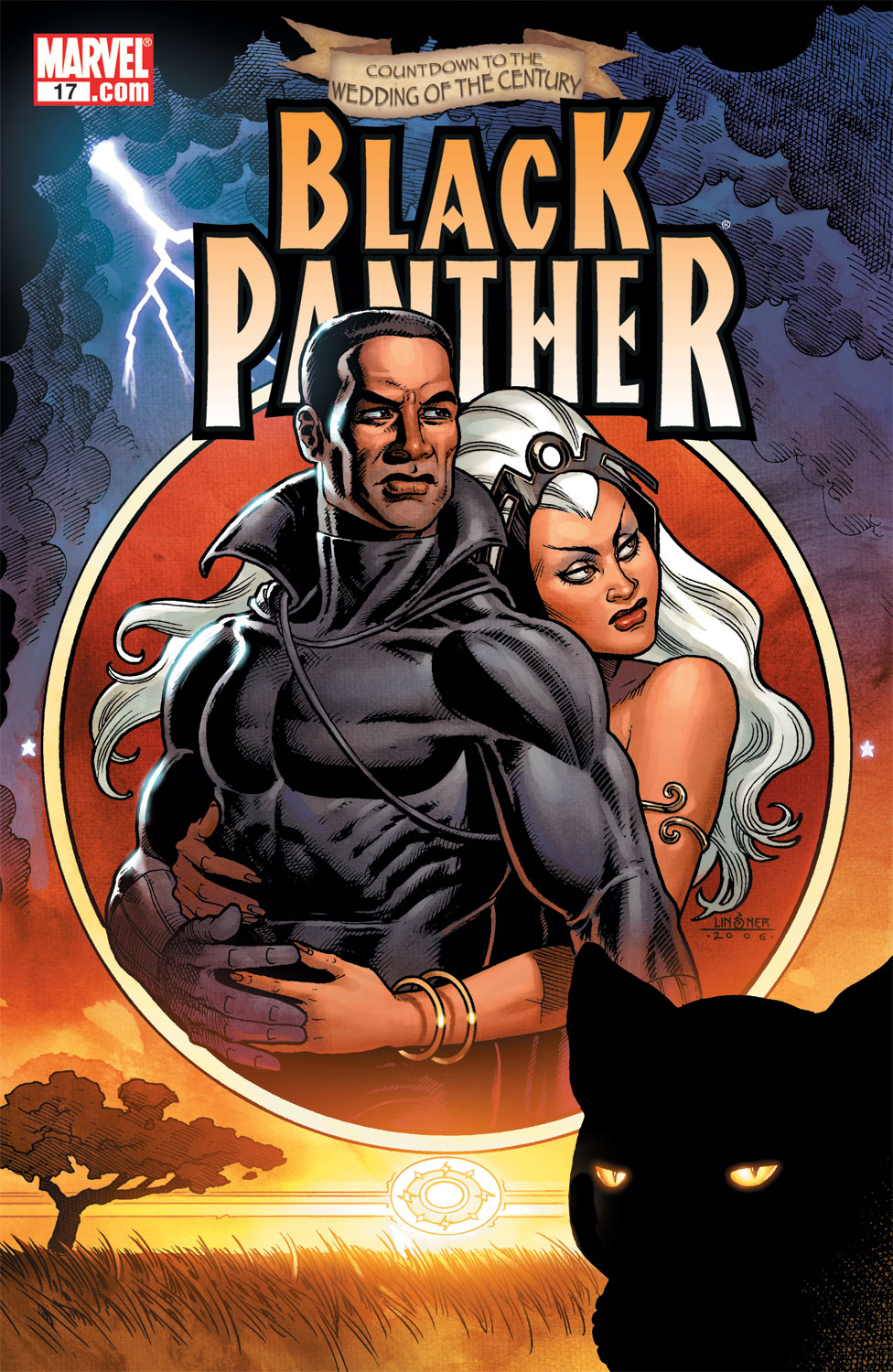 Black Panther (2005) 17 Page 1