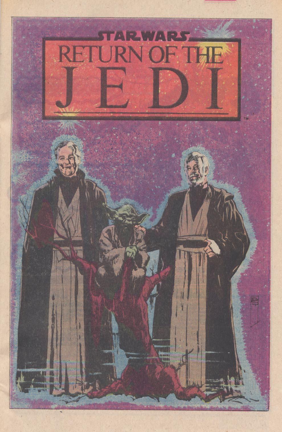 Read online Star Wars: Return of the Jedi comic -  Issue #4 - 25