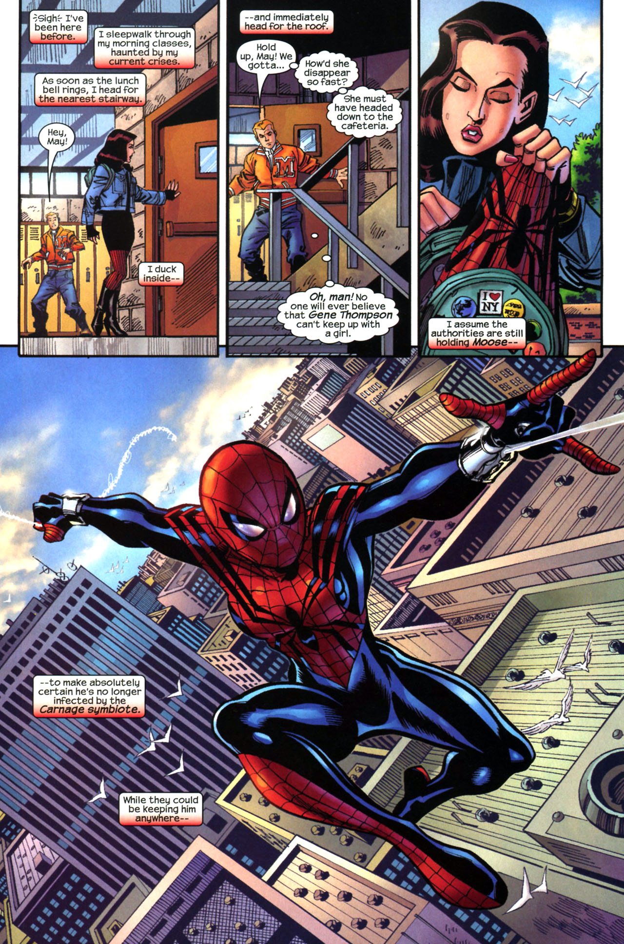 Read online Amazing Spider-Girl comic -  Issue #13 - 15